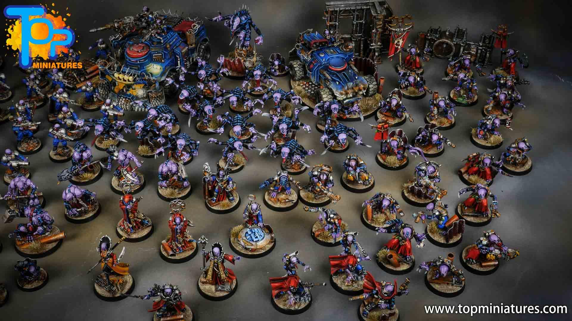 genestealer cults huge painted army (6)
