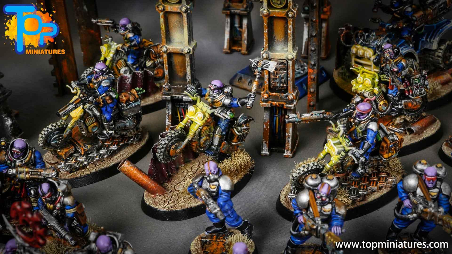 genestealer cults huge painted army (9)