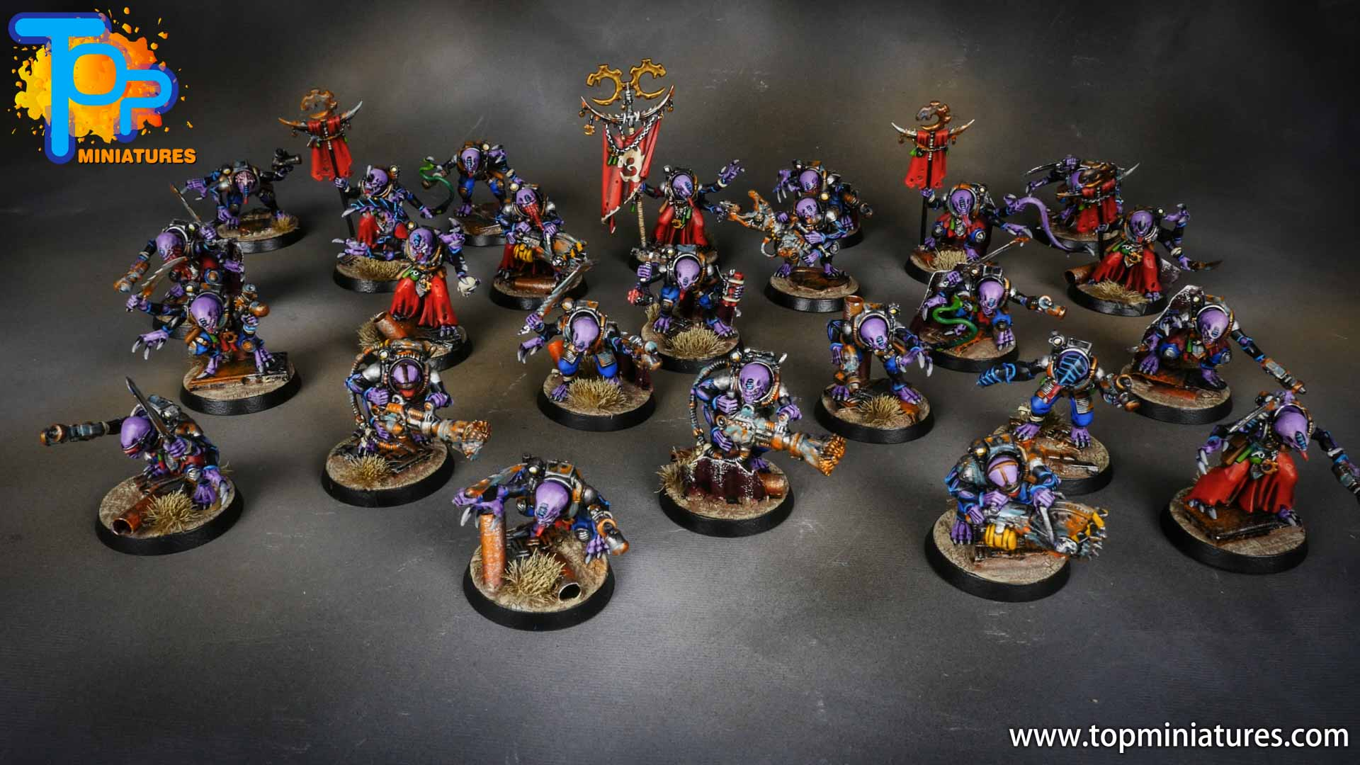 genestealer cults painted acolyte hybrids (1)