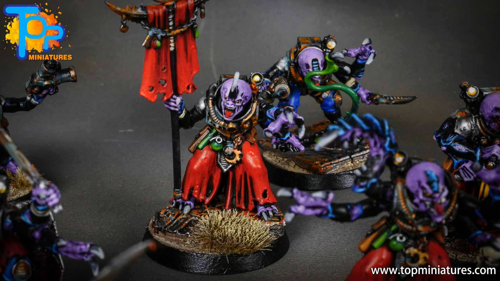 genestealer cults painted acolyte hybrids (10)