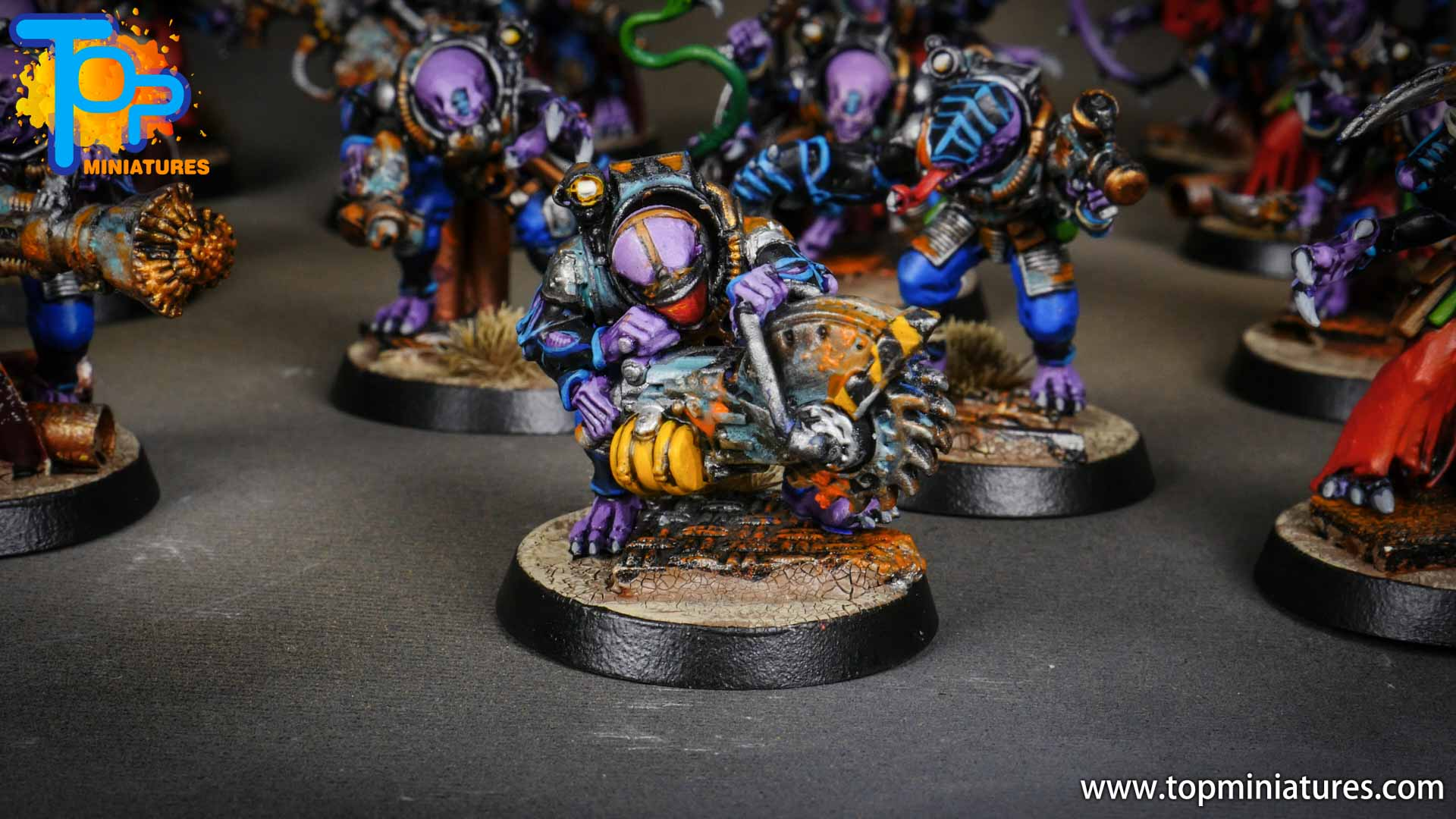 genestealer cults painted acolyte hybrids (2)