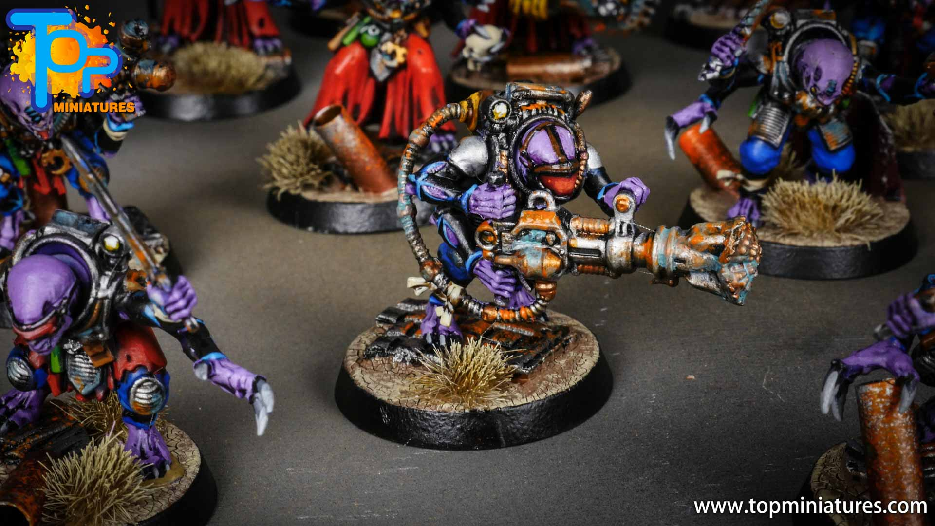 genestealer cults painted acolyte hybrids (3)
