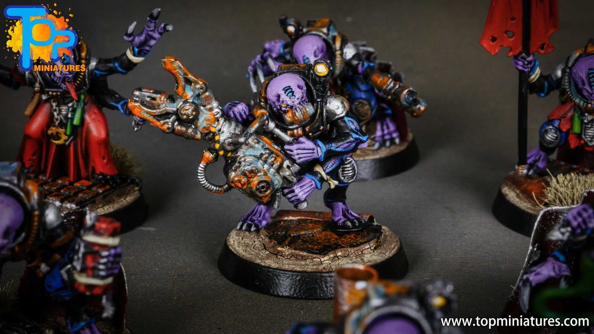 genestealer cults painted acolyte hybrids (7)