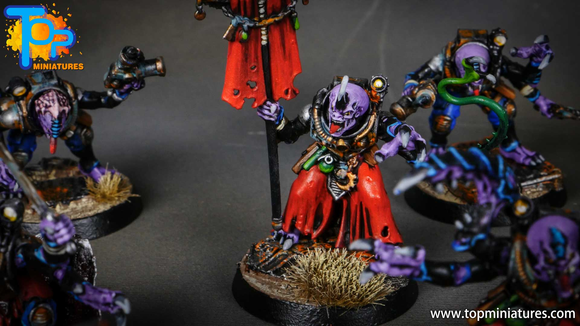 genestealer cults painted acolyte hybrids (8)