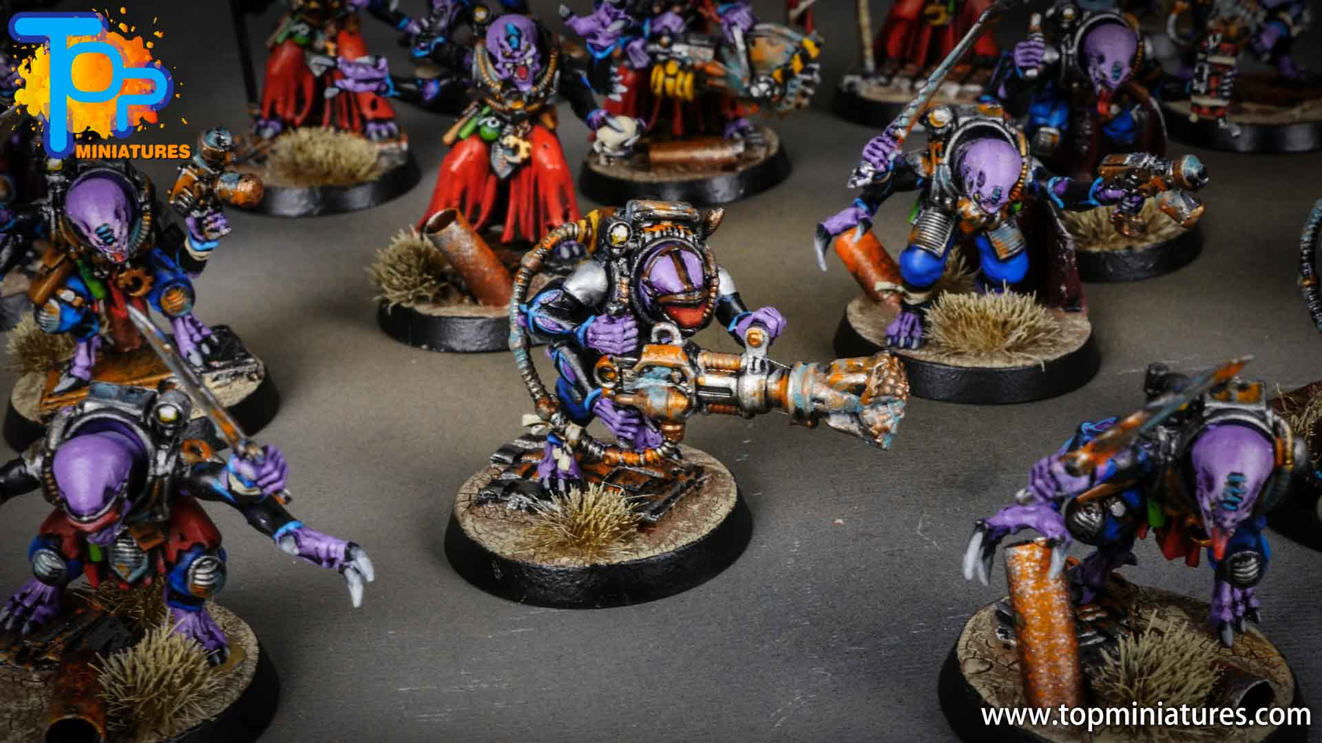 genestealer cults painted acolyte hybrids (9)