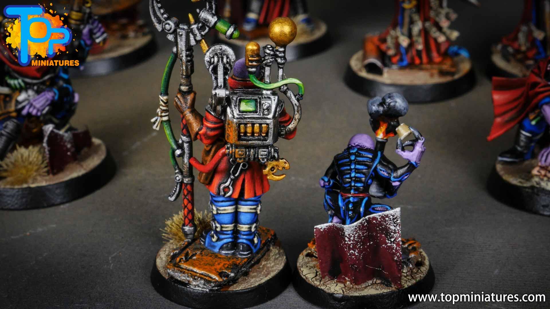 genestealer cults painted biophagus & familiar (4)
