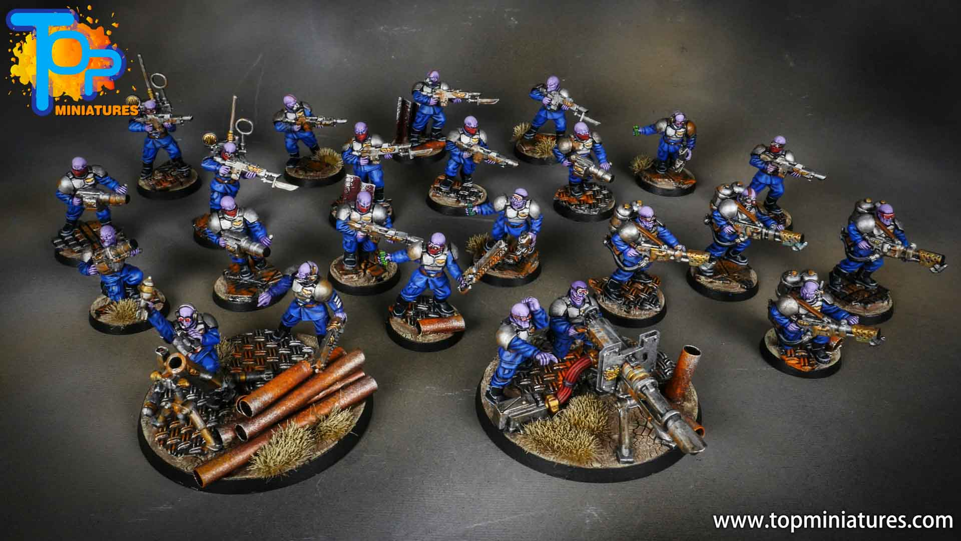 genestealer cults painted brood brothers (1)