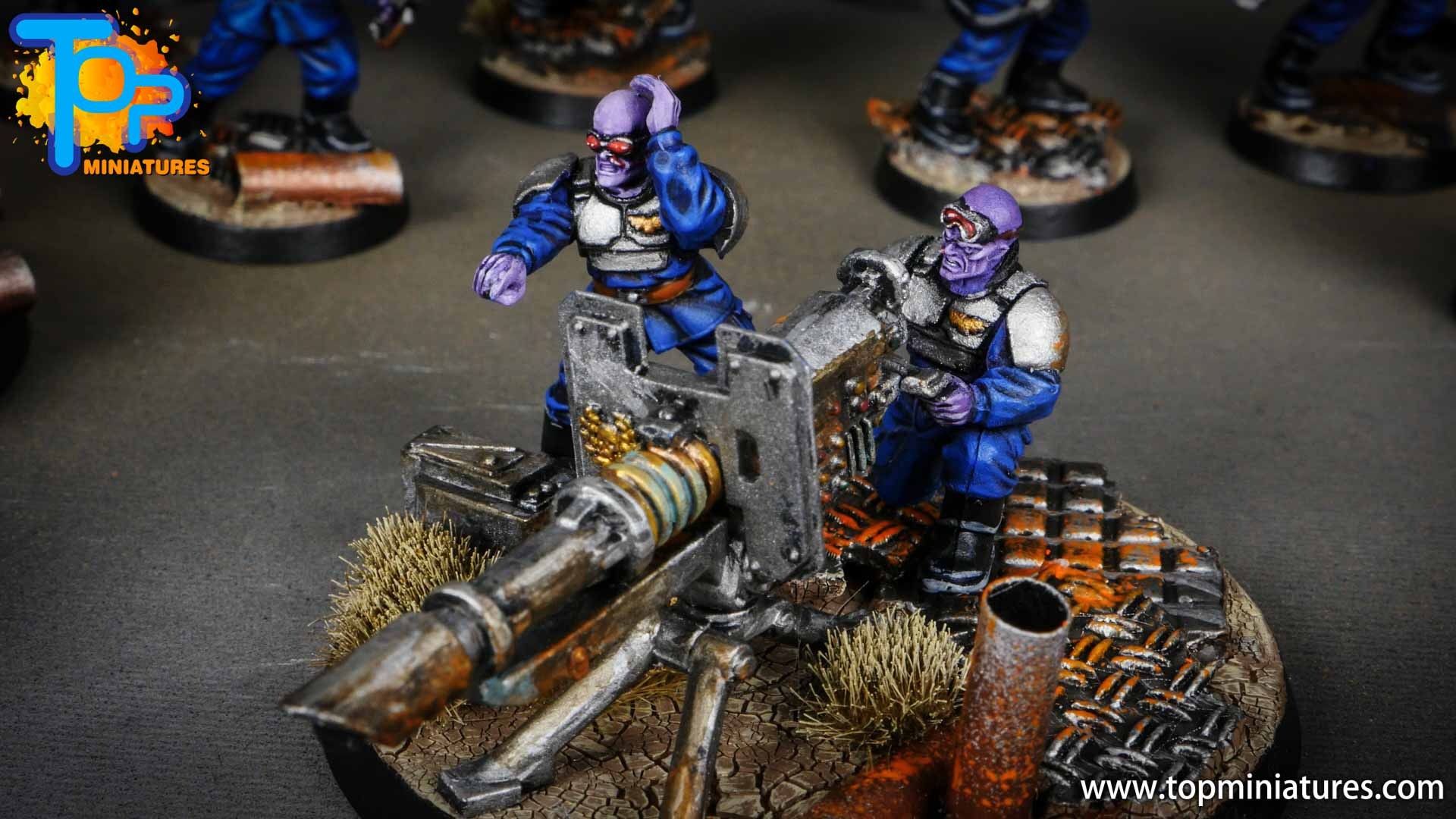 genestealer cults painted brood brothers (3)