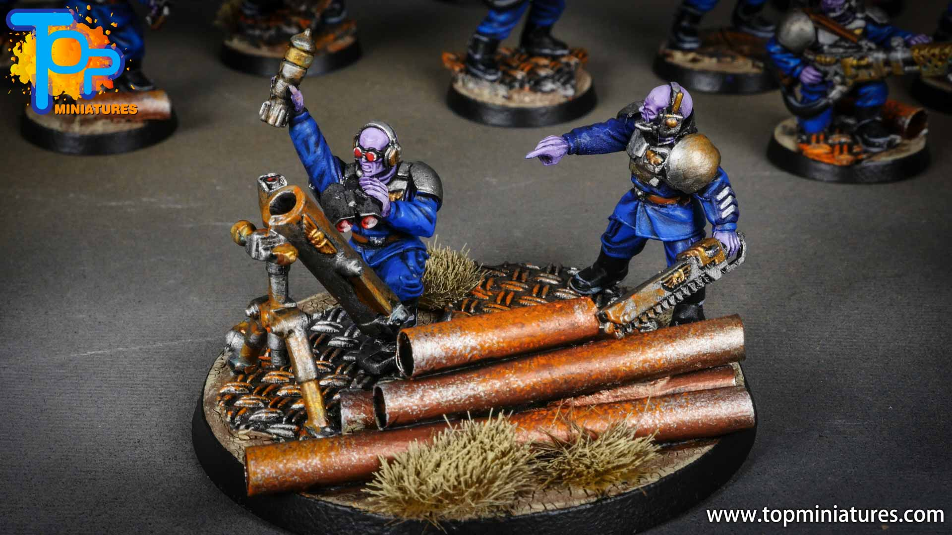 genestealer cults painted brood brothers (4)