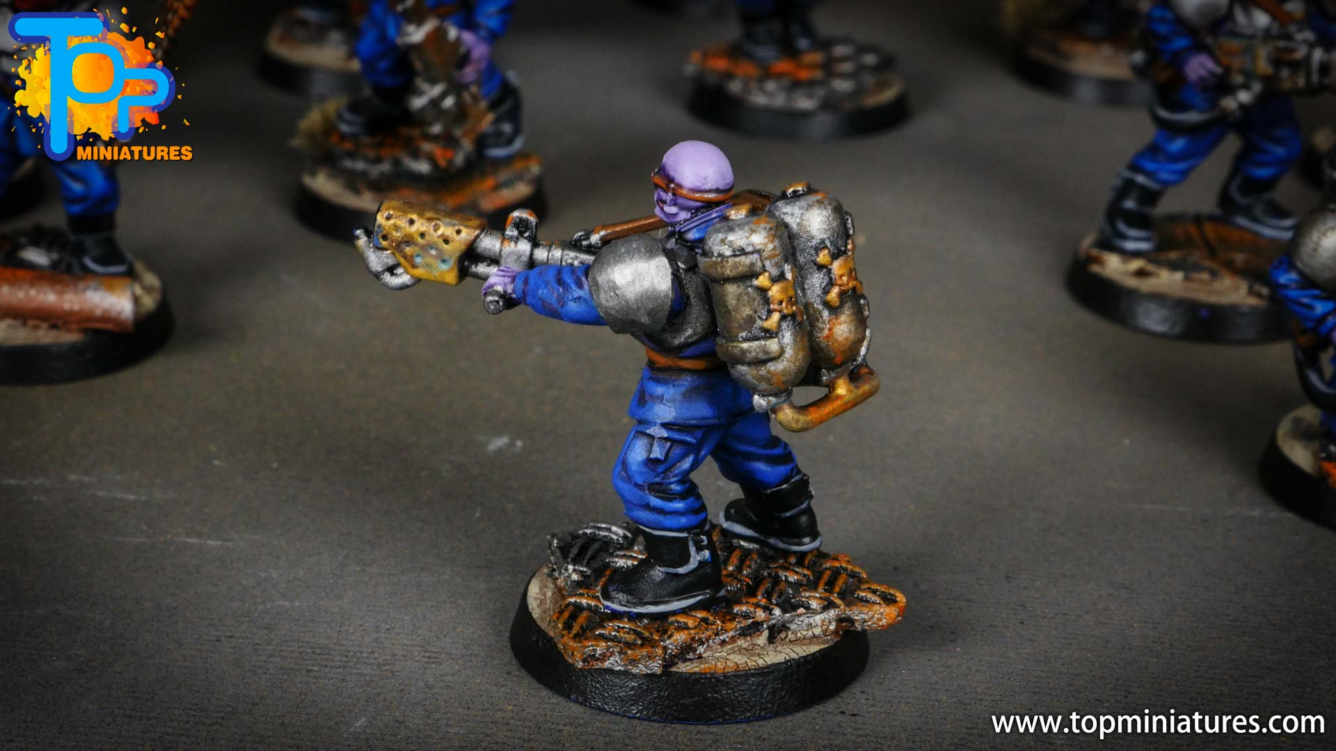 genestealer cults painted brood brothers (6)