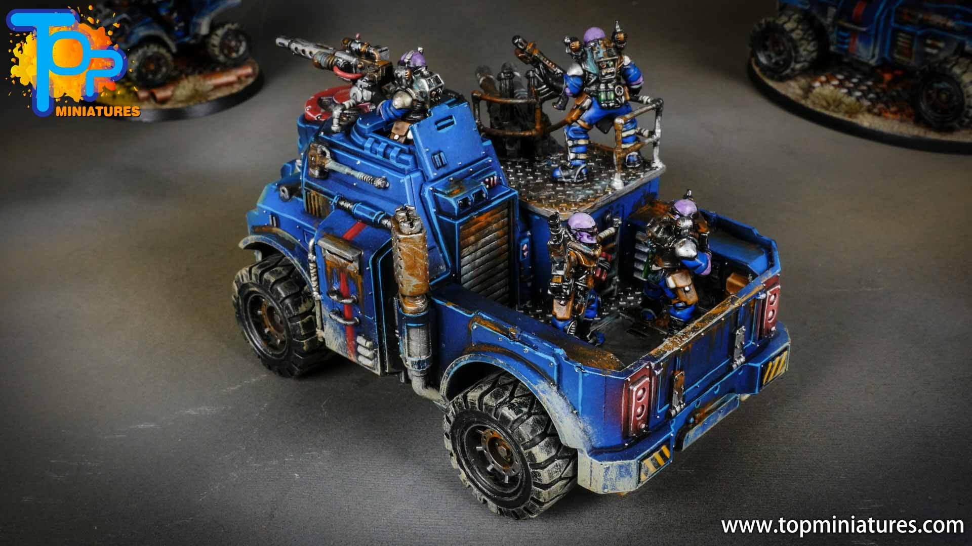 genestealer cults painted goliath truck (7)