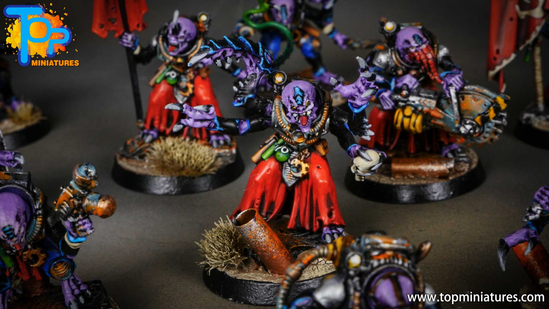 genestealer cults painted hybrid metamorphs (2)