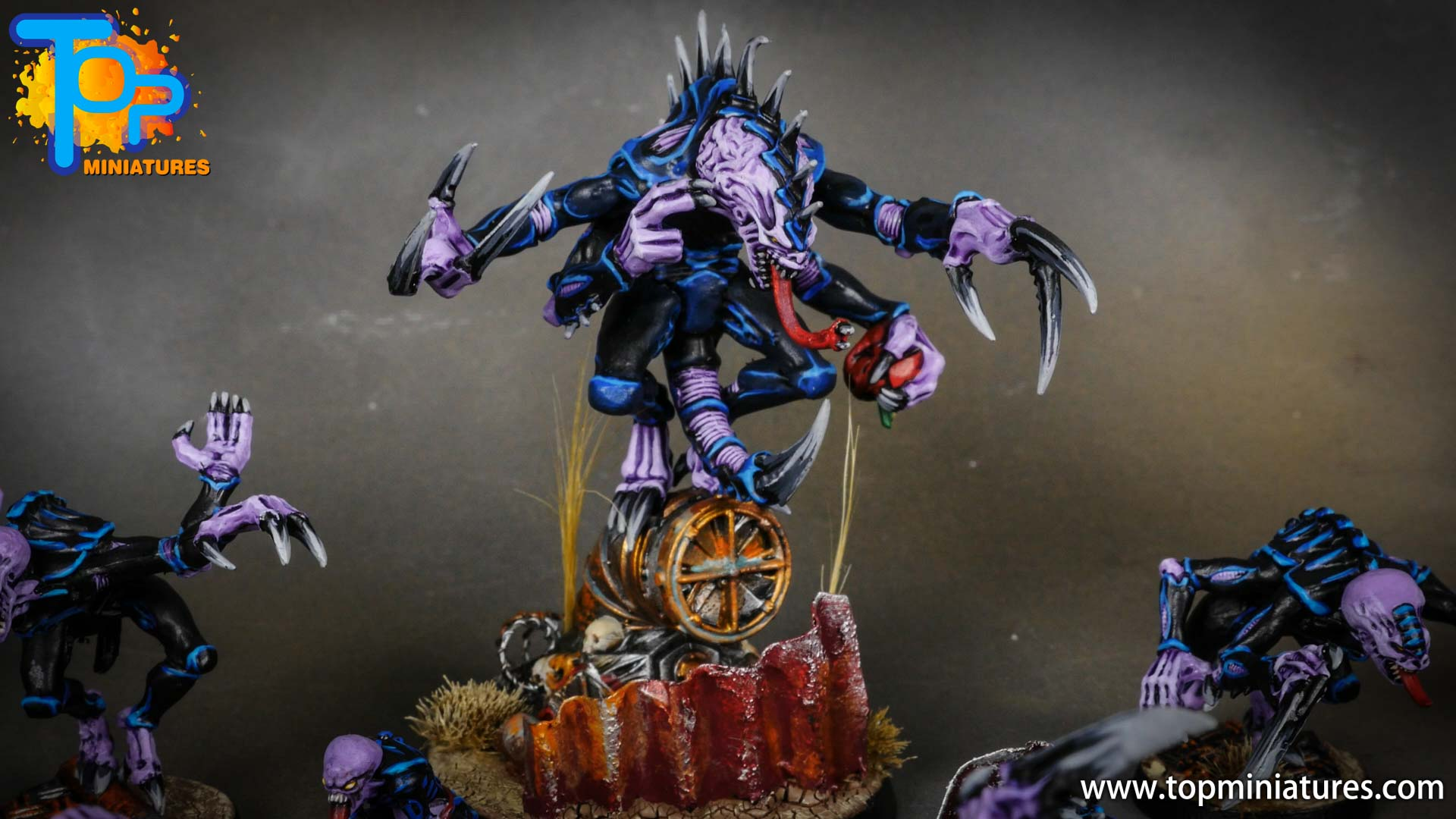 genestealer cults painted patriarch (2)