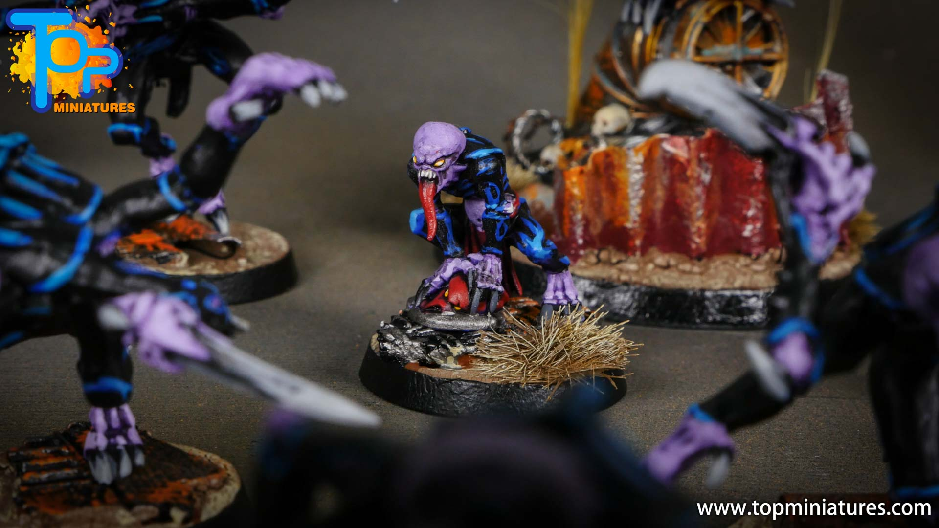 genestealer cults painted patriarch's familiars (1)