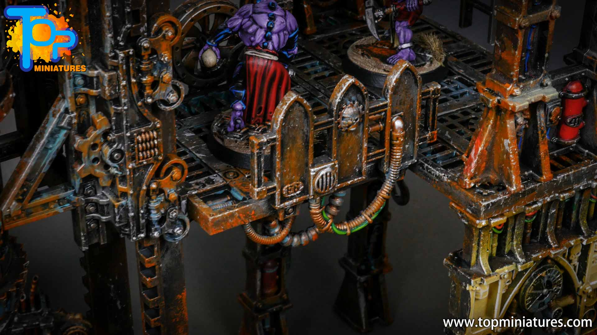genestealer cults painted tectonic fragdrill (1)