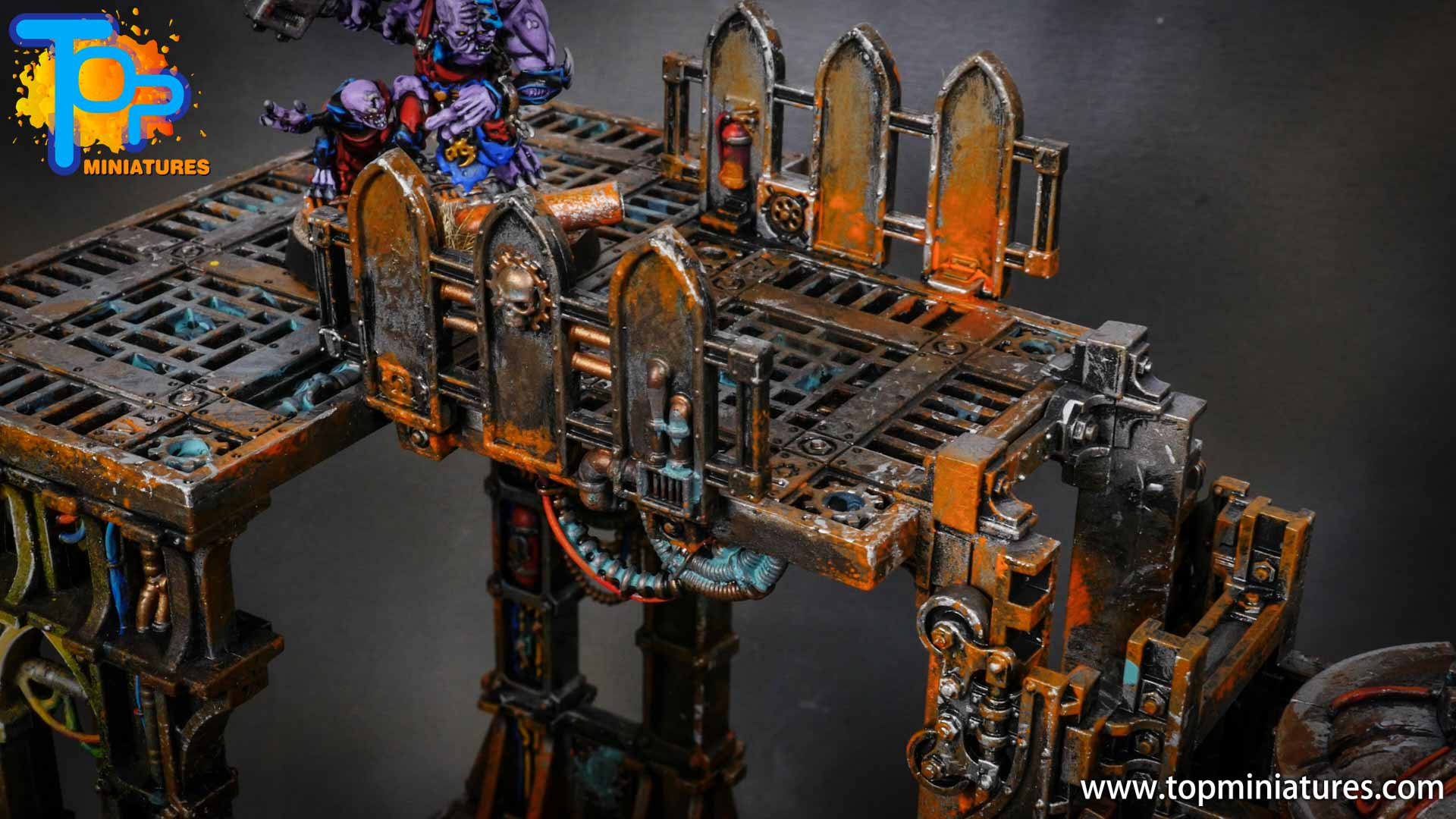 genestealer cults painted tectonic fragdrill (13)
