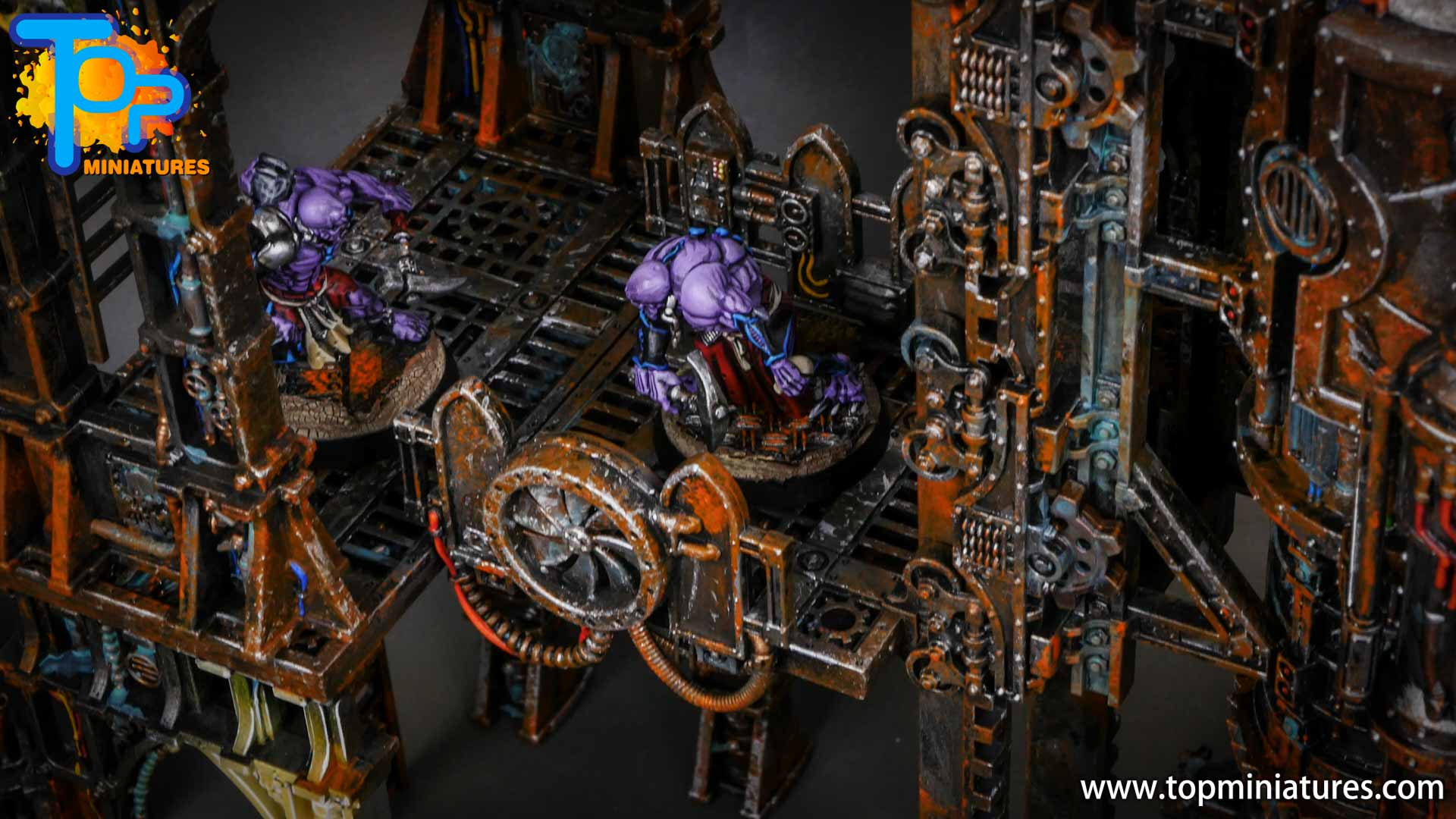 genestealer cults painted tectonic fragdrill (19)