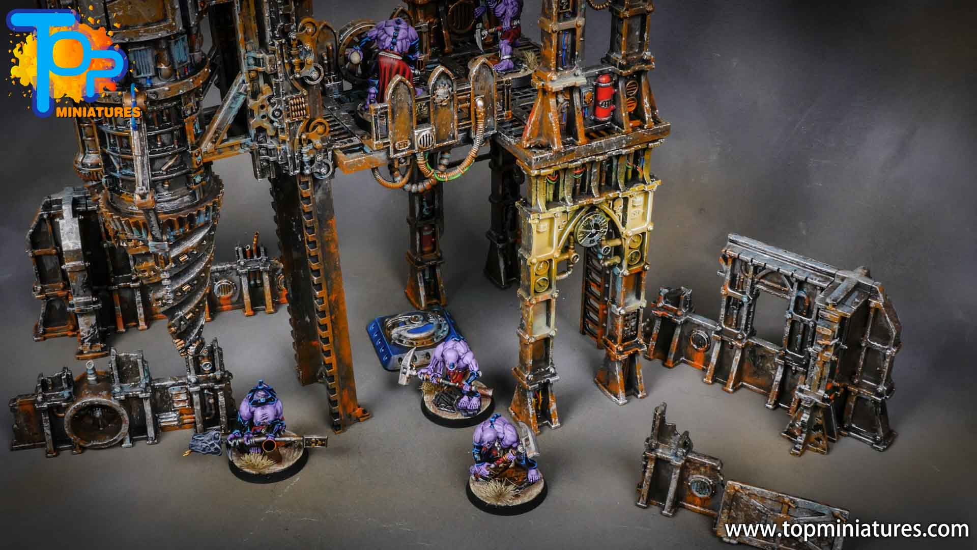 genestealer cults painted tectonic fragdrill (22)