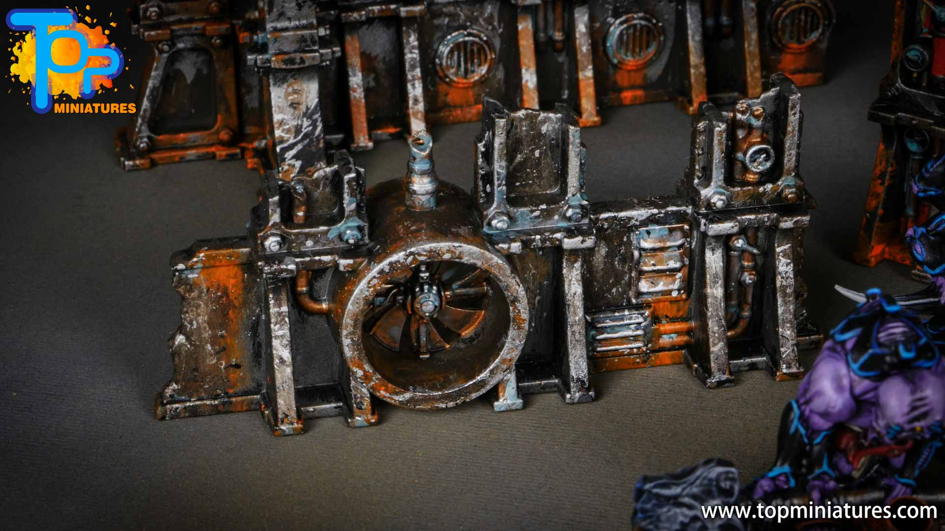 genestealer cults painted tectonic fragdrill (3)