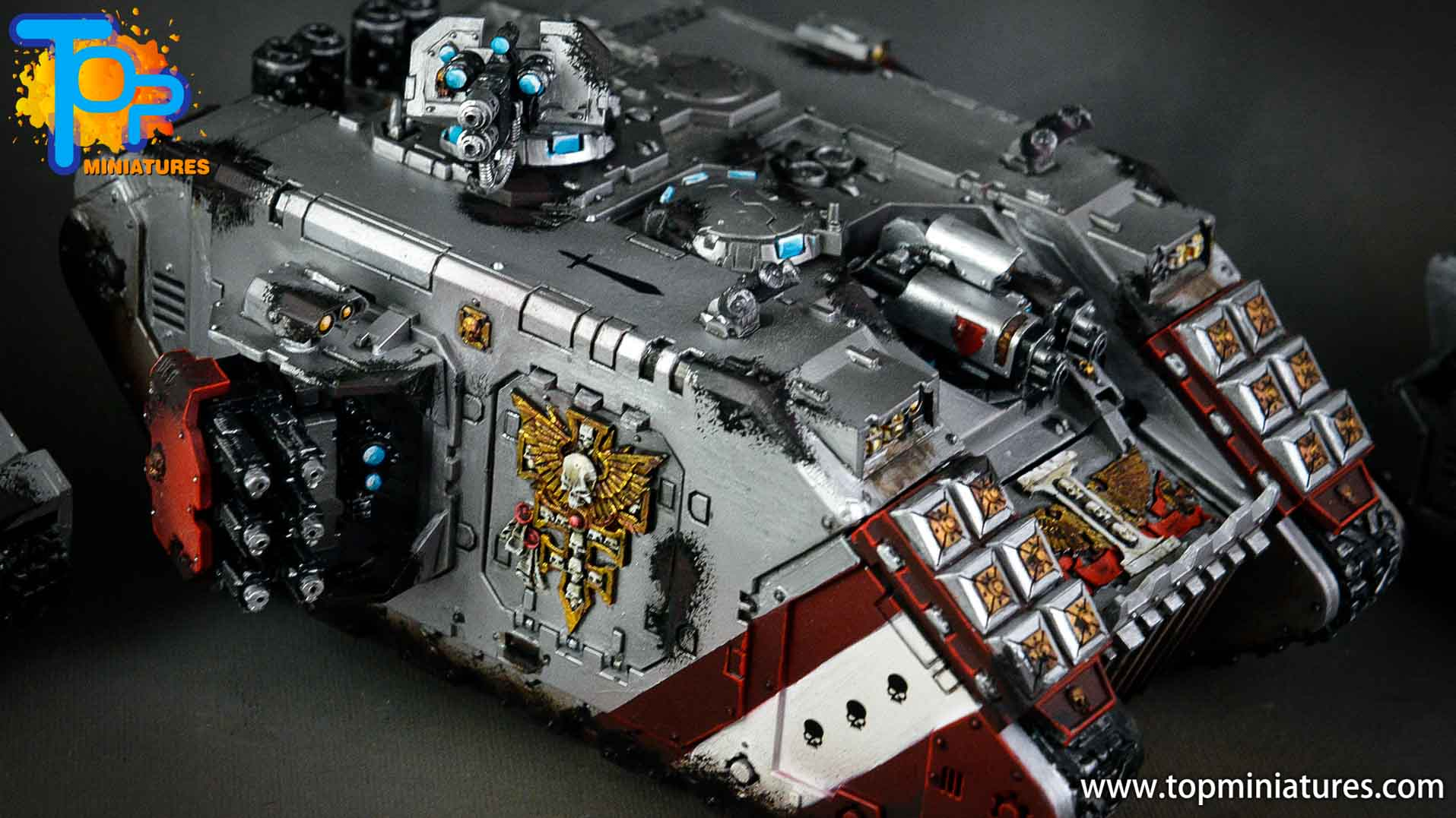 grey knights land raider crusader (2)