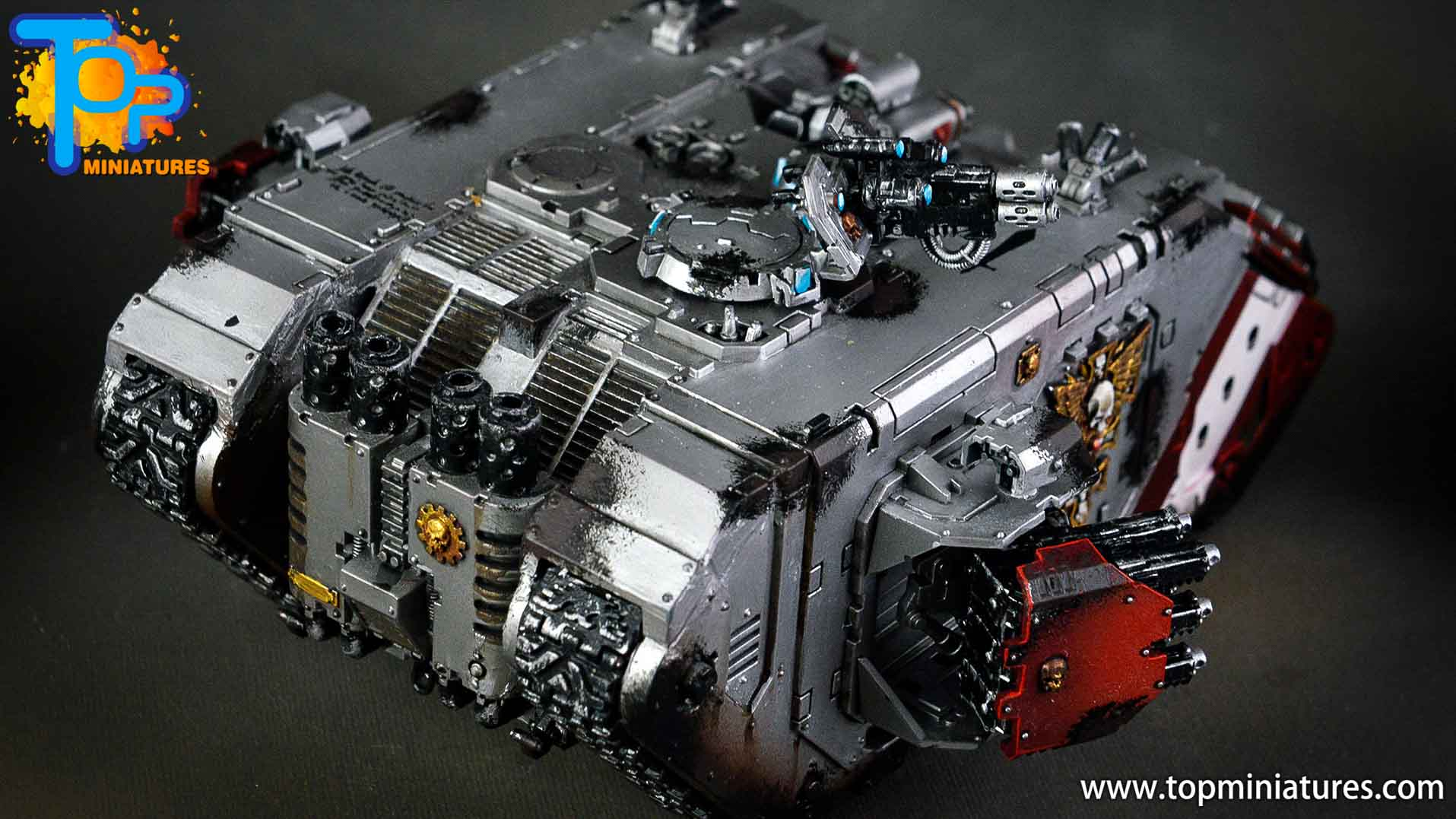 grey knights land raider crusader (3)