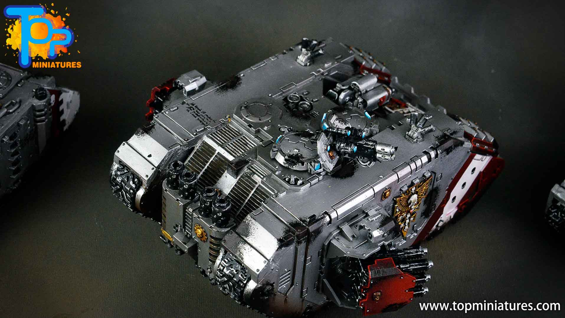 grey knights land raider crusader (4)