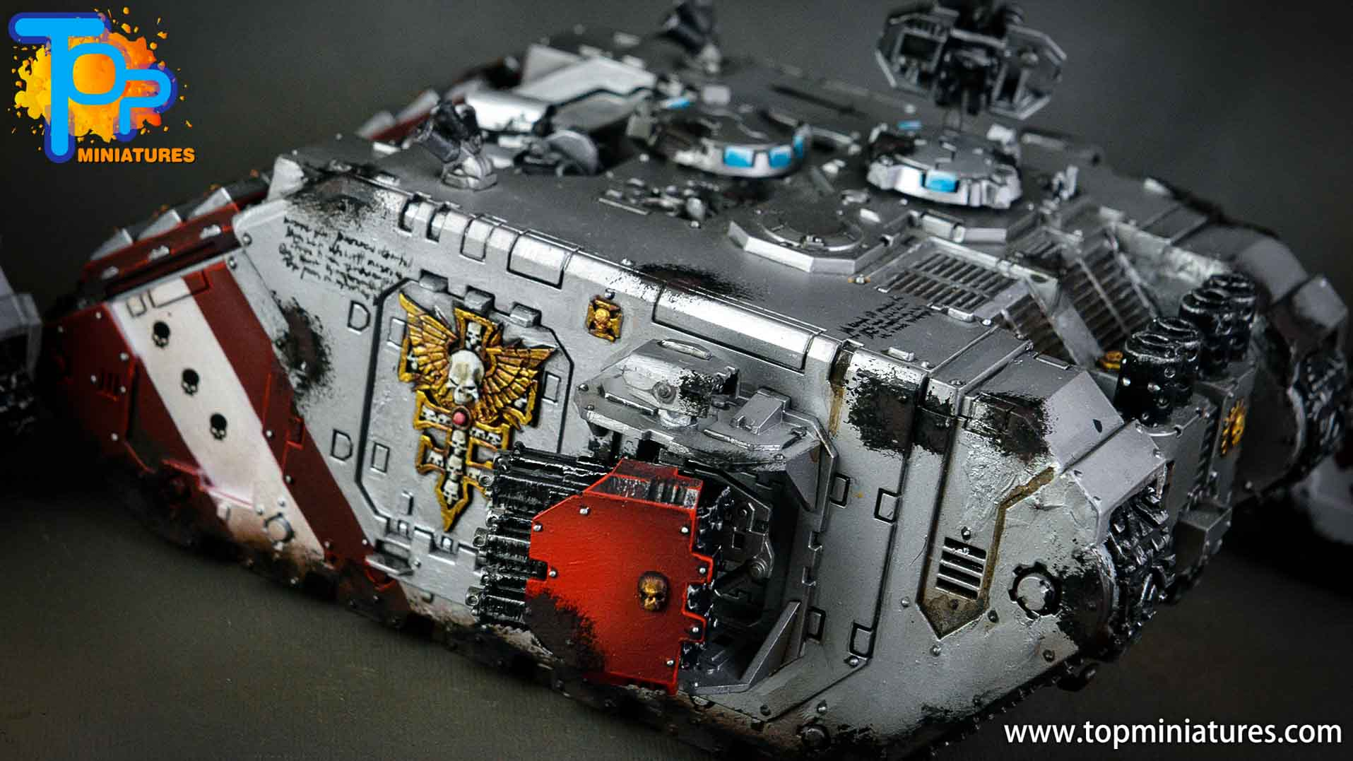 grey knights land raider crusader (5)