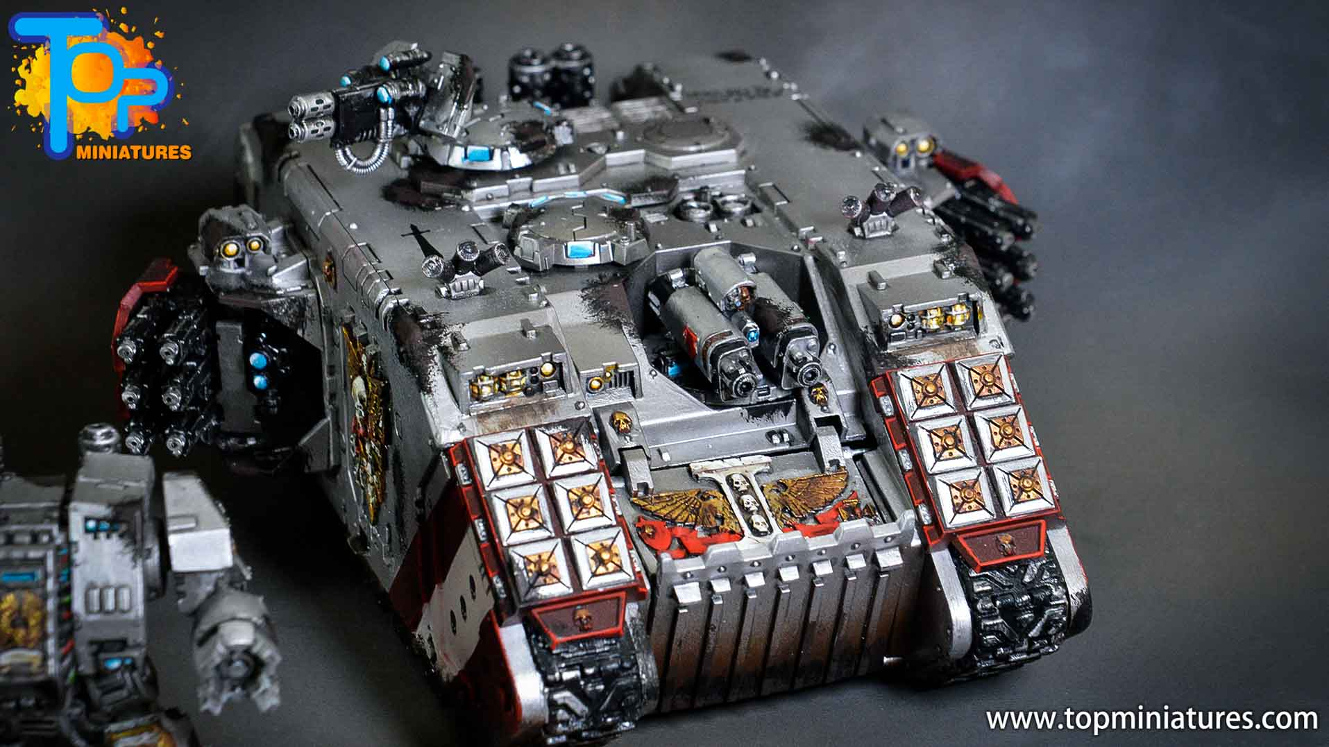 grey knights land raider crusader (6)