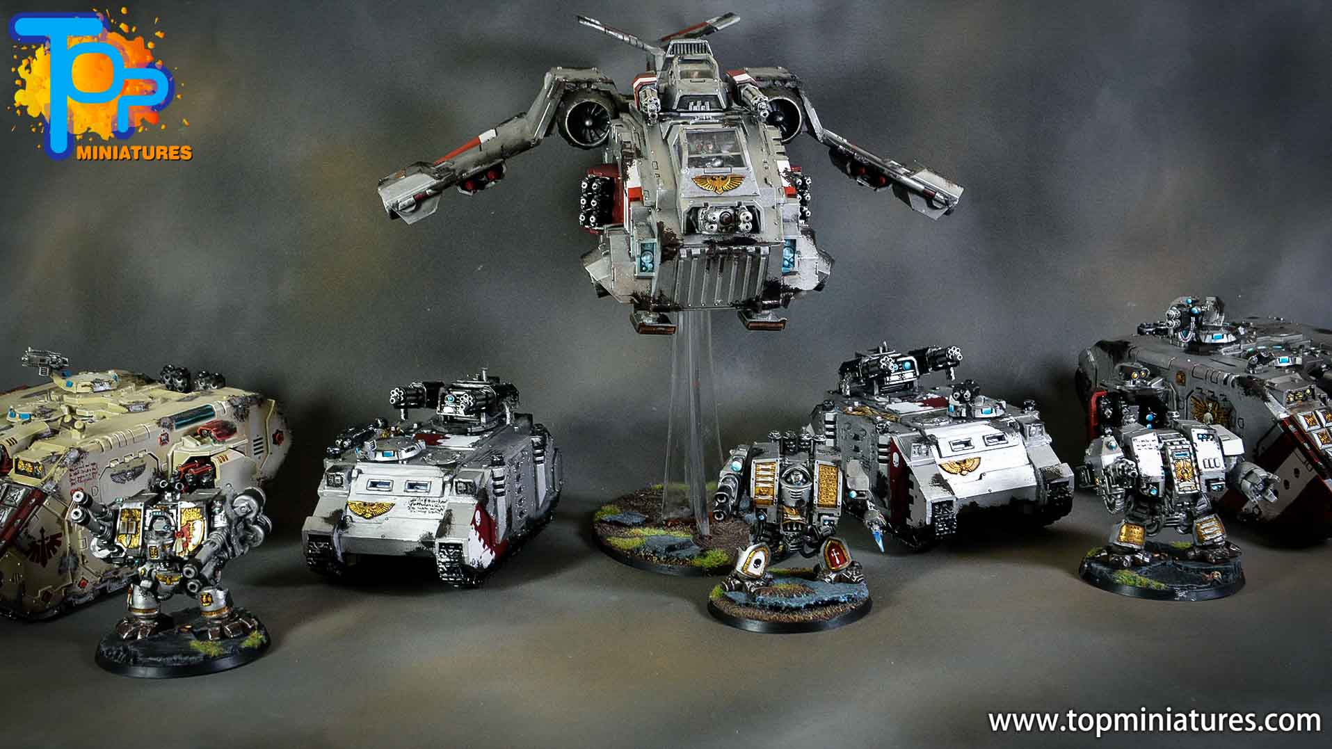grey knights mechanized army