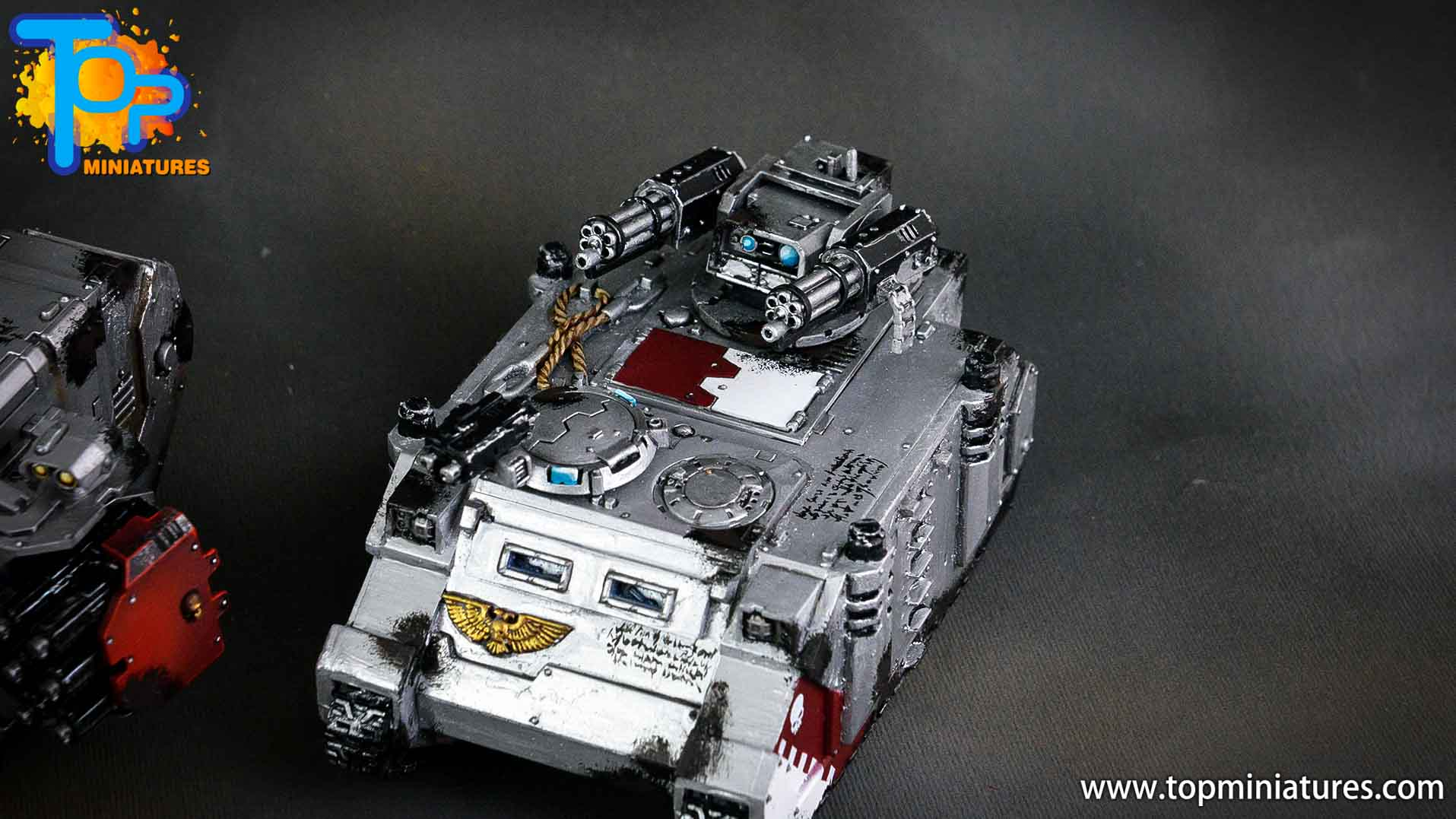 grey knights razorback assault cannon (2)