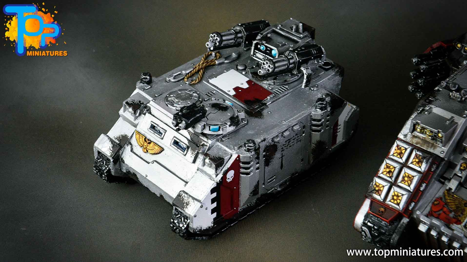 grey knights razorback assault cannon (3)