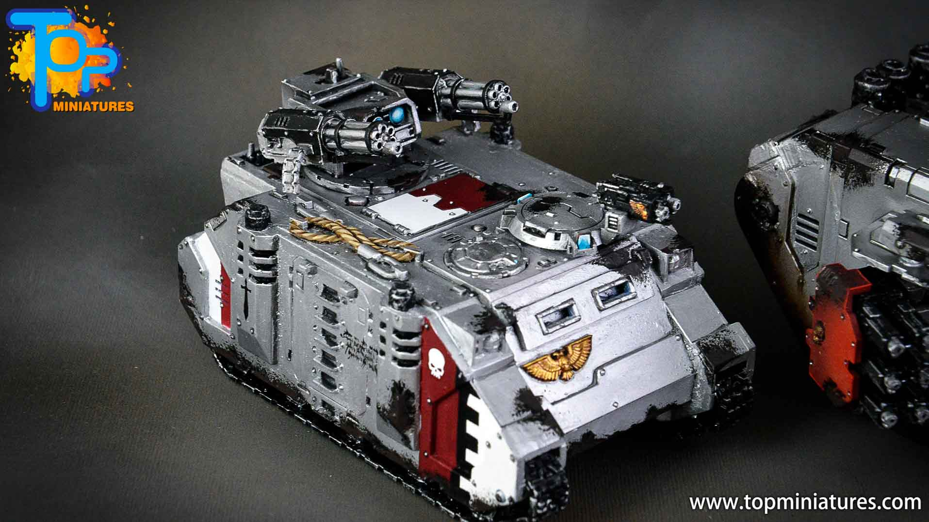 grey knights razorback assault cannon (4)