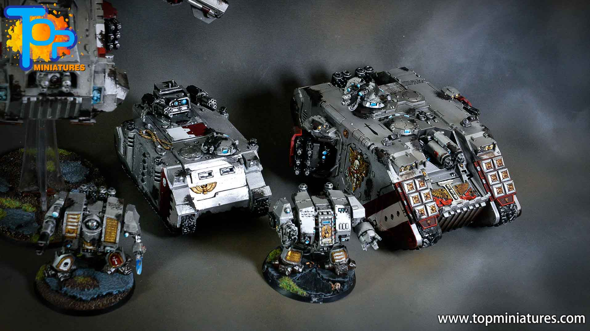 grey knights razorback assault cannon (7)