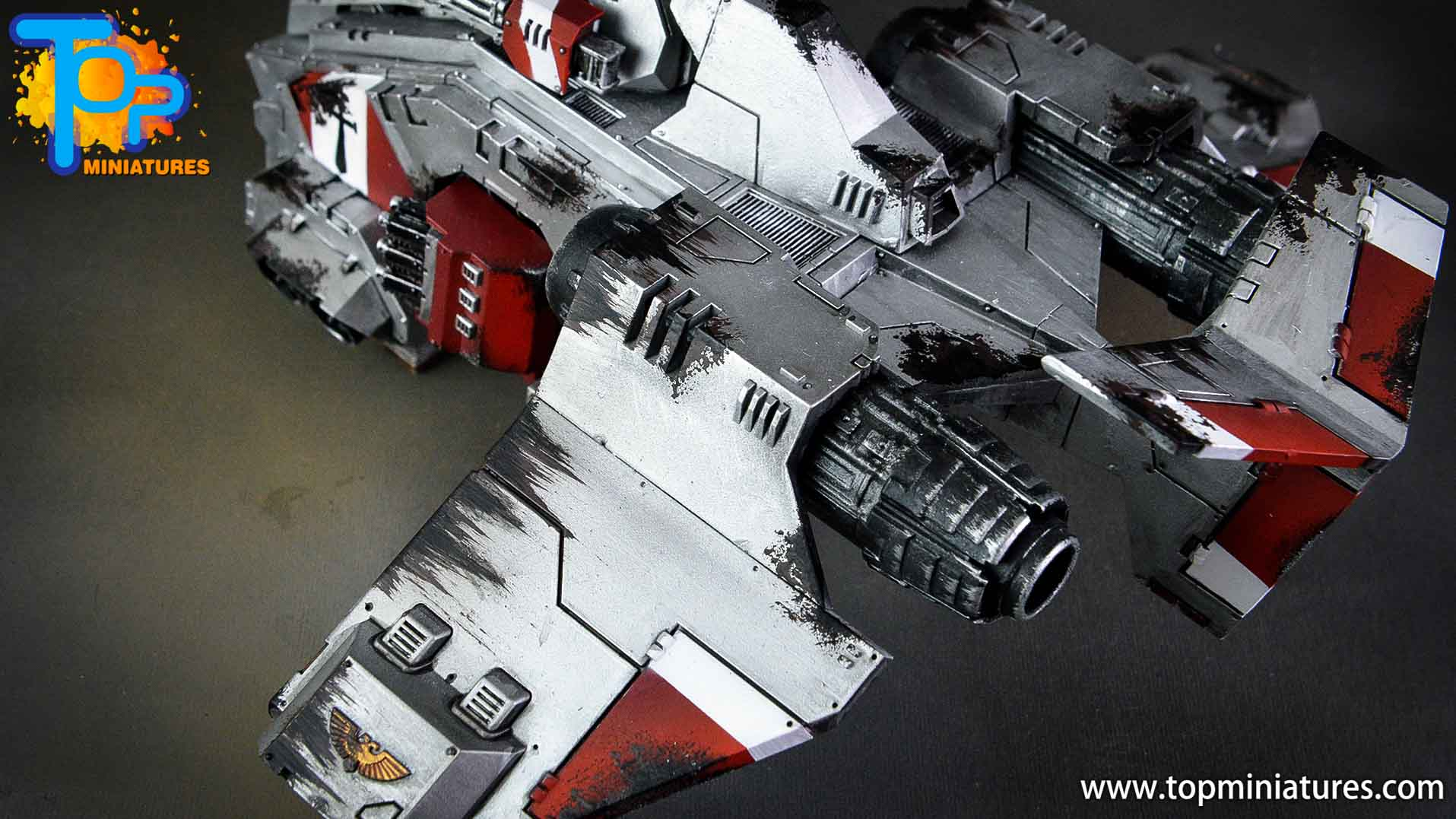 grey knights stormraven (2)