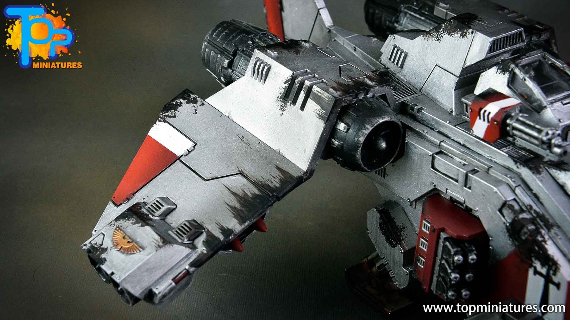 grey knights stormraven (5)