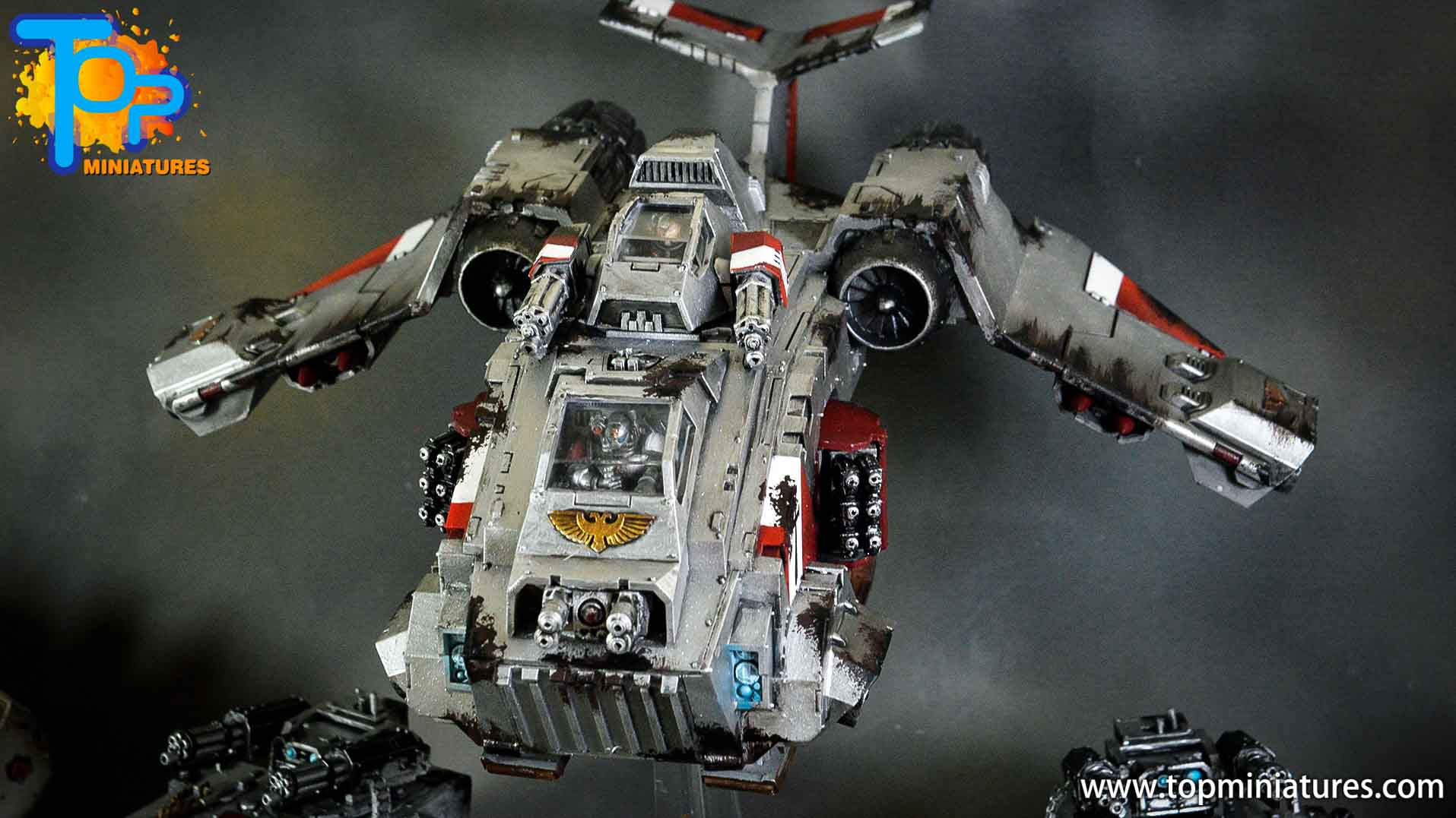 grey knights stormraven (7)