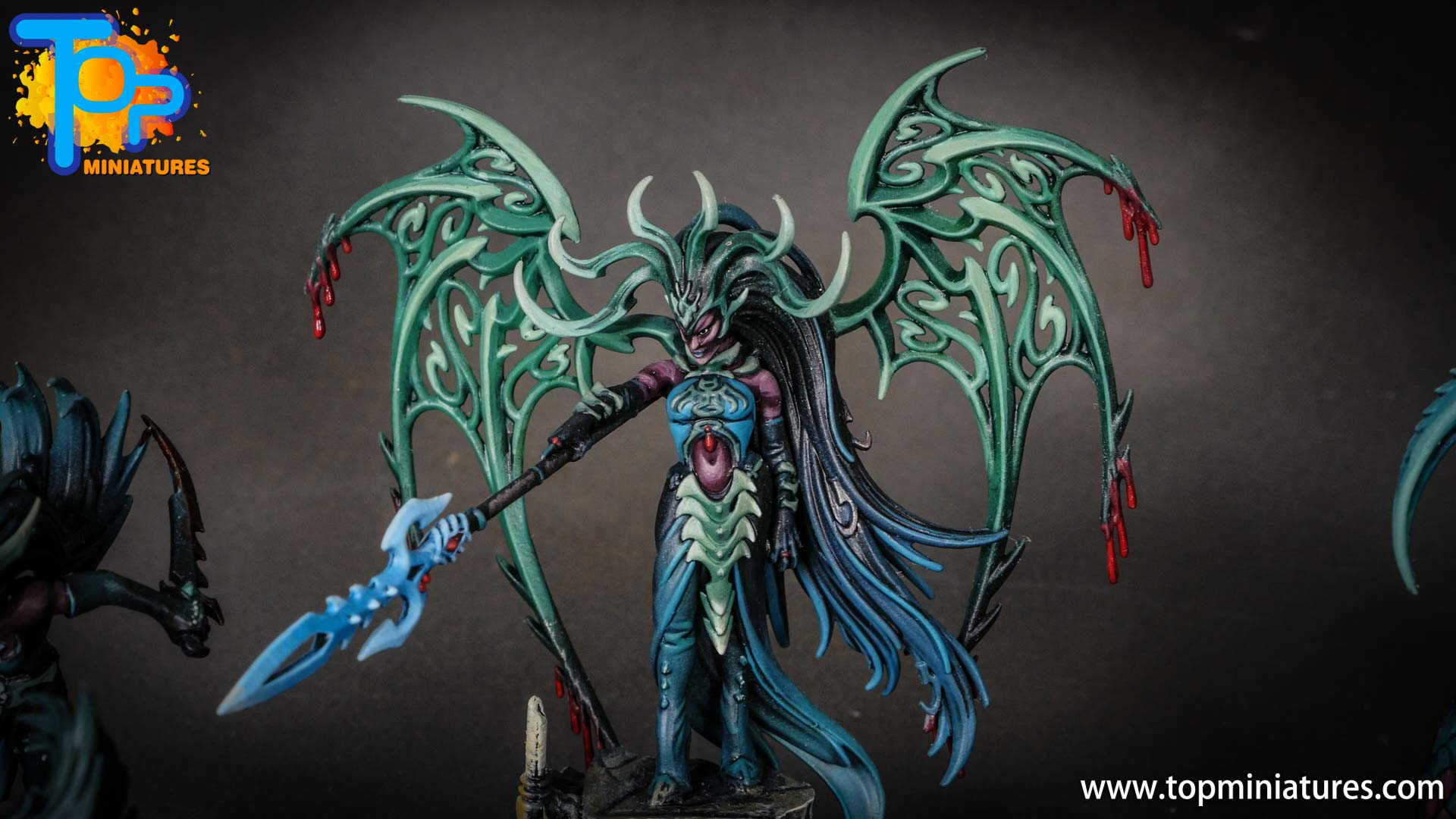 iridiscent daughters of khaine painted morathi (10)