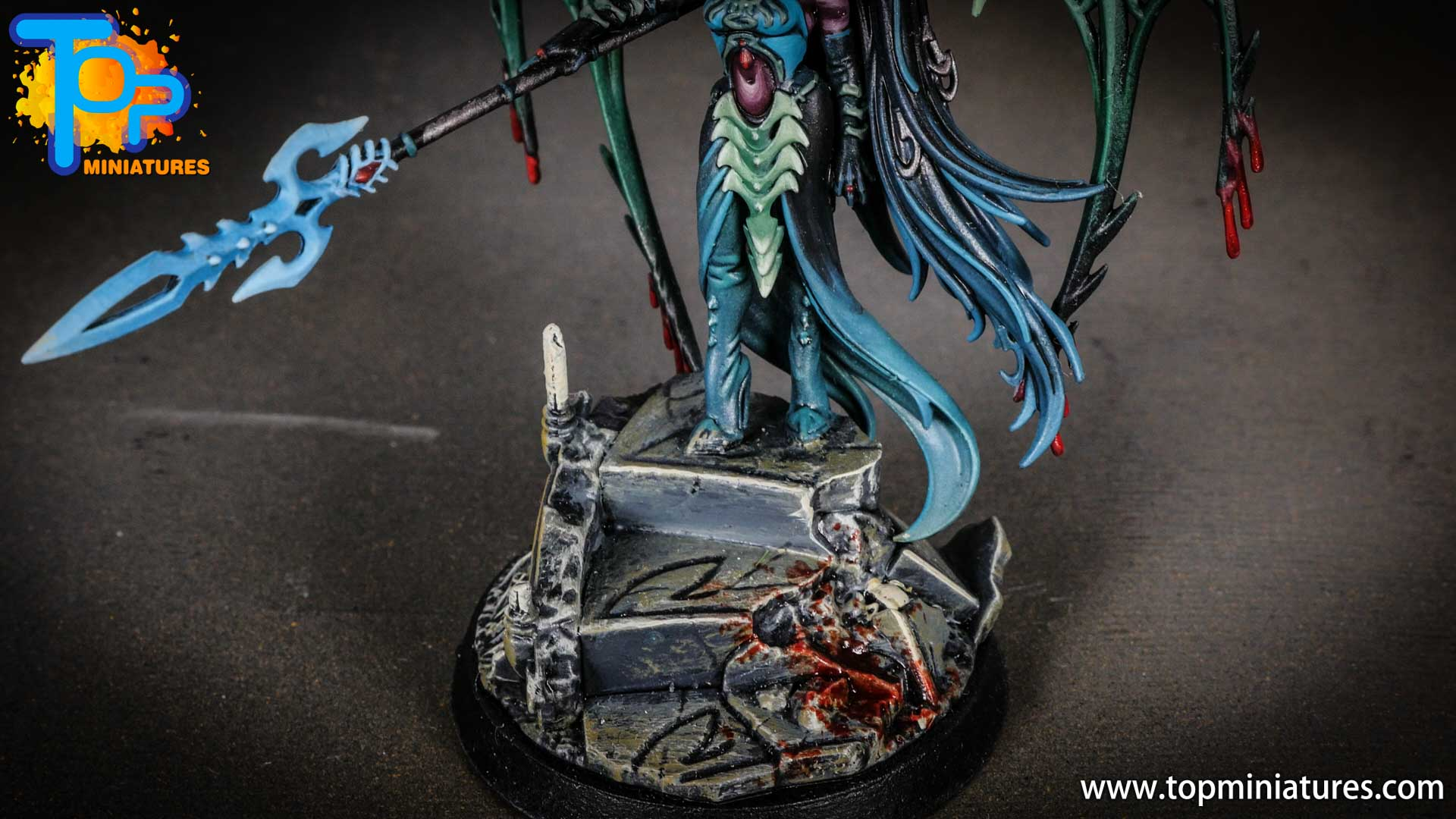 iridiscent daughters of khaine painted morathi (14)