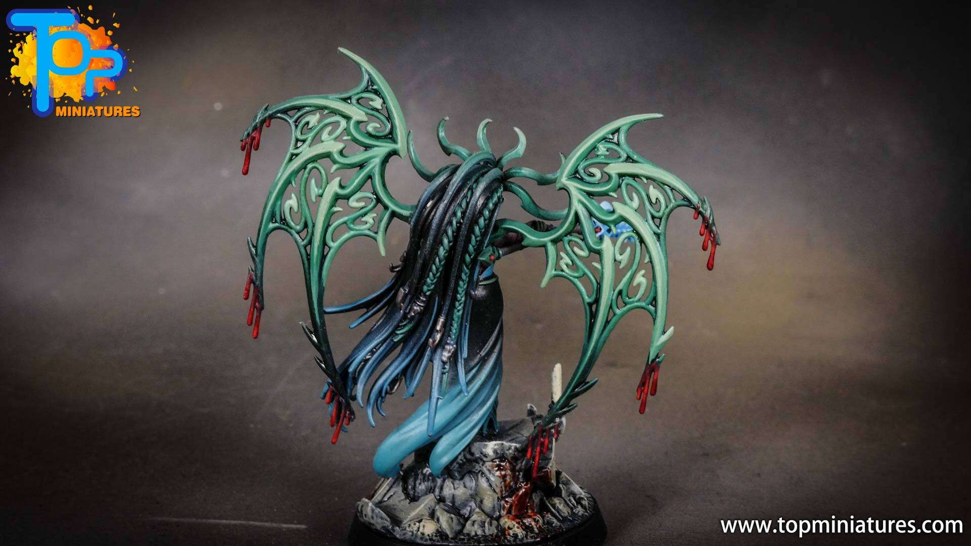 iridiscent daughters of khaine painted morathi (15)