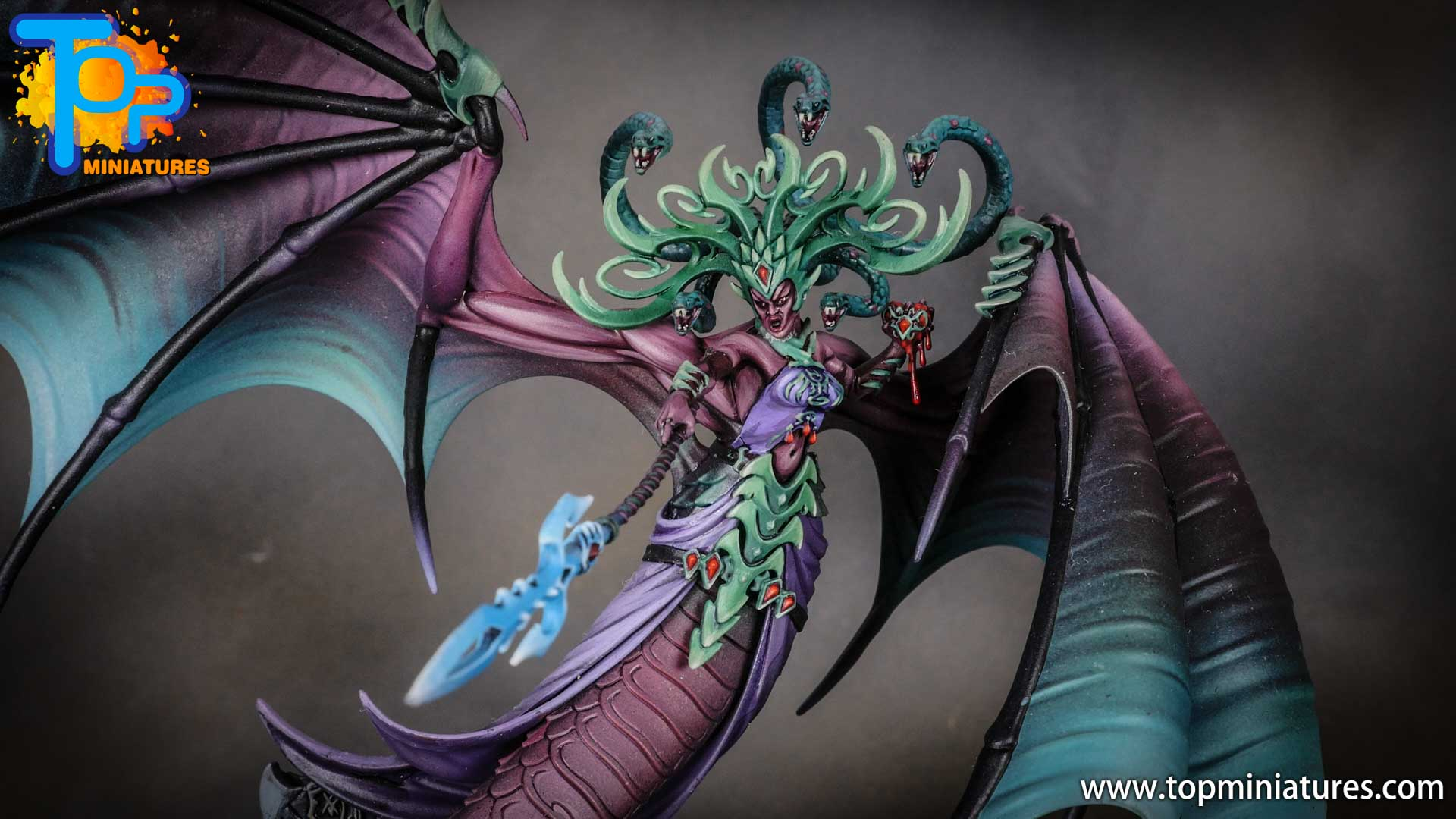 iridiscent daughters of khaine painted morathi (2)