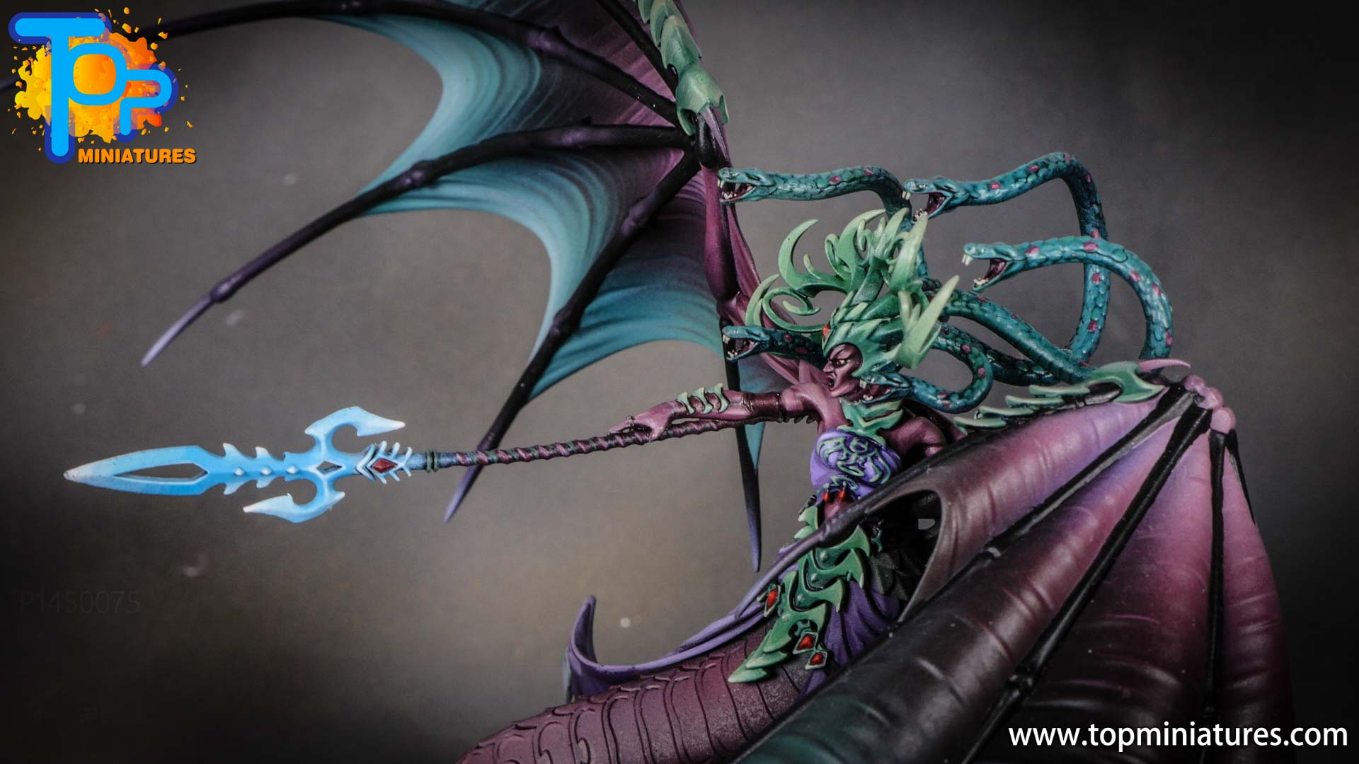 iridiscent daughters of khaine painted morathi (3)