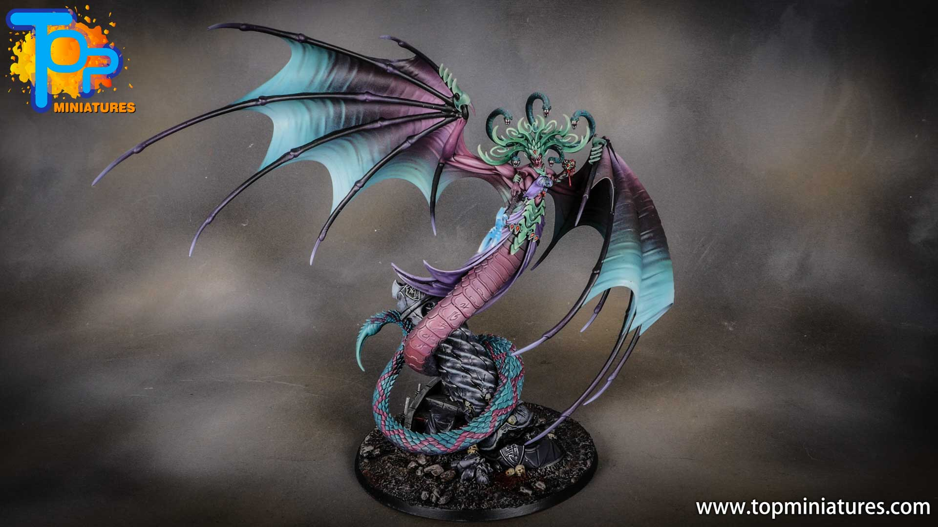 iridiscent daughters of khaine painted morathi (5)