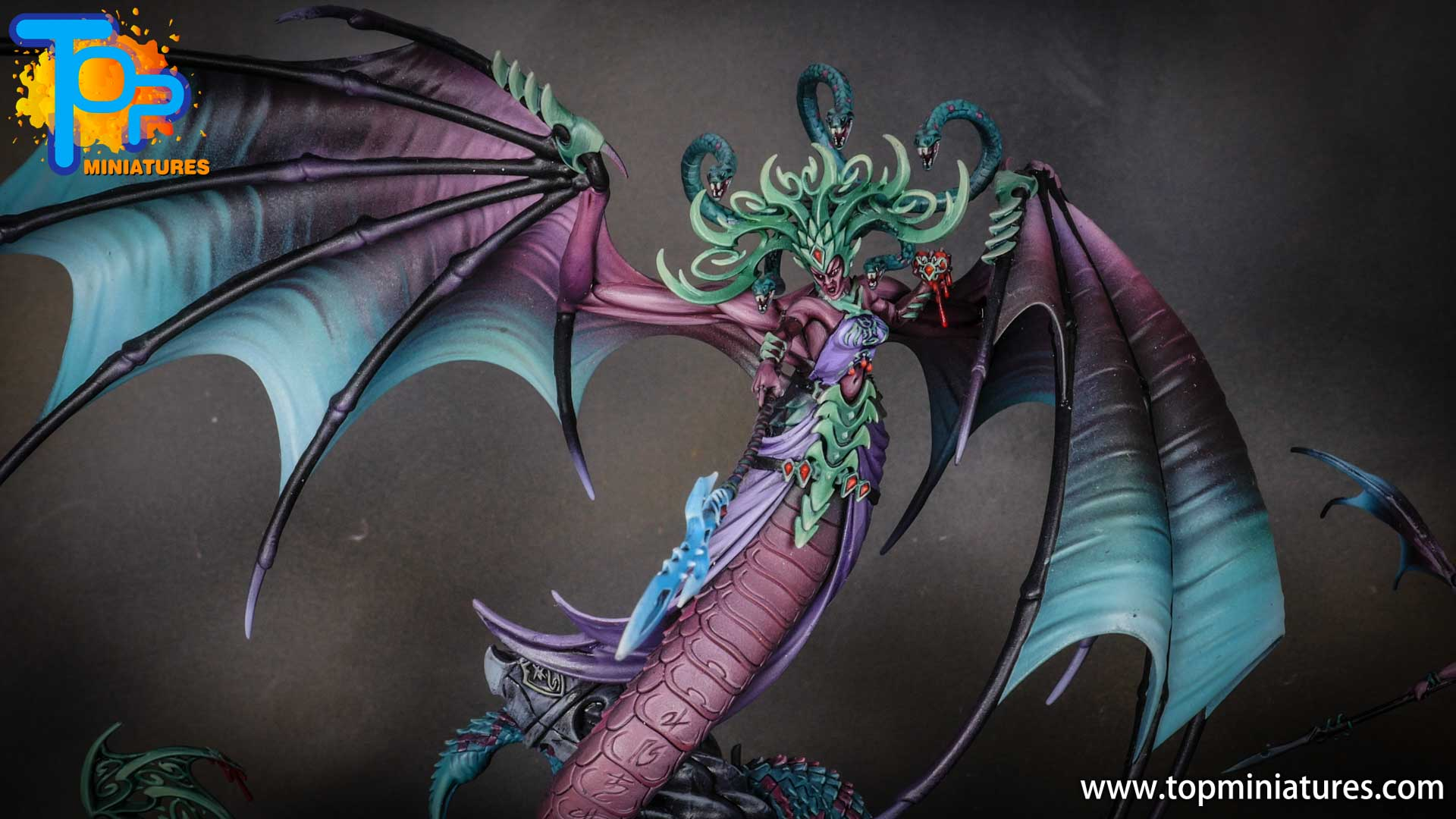 iridiscent daughters of khaine painted morathi (9)