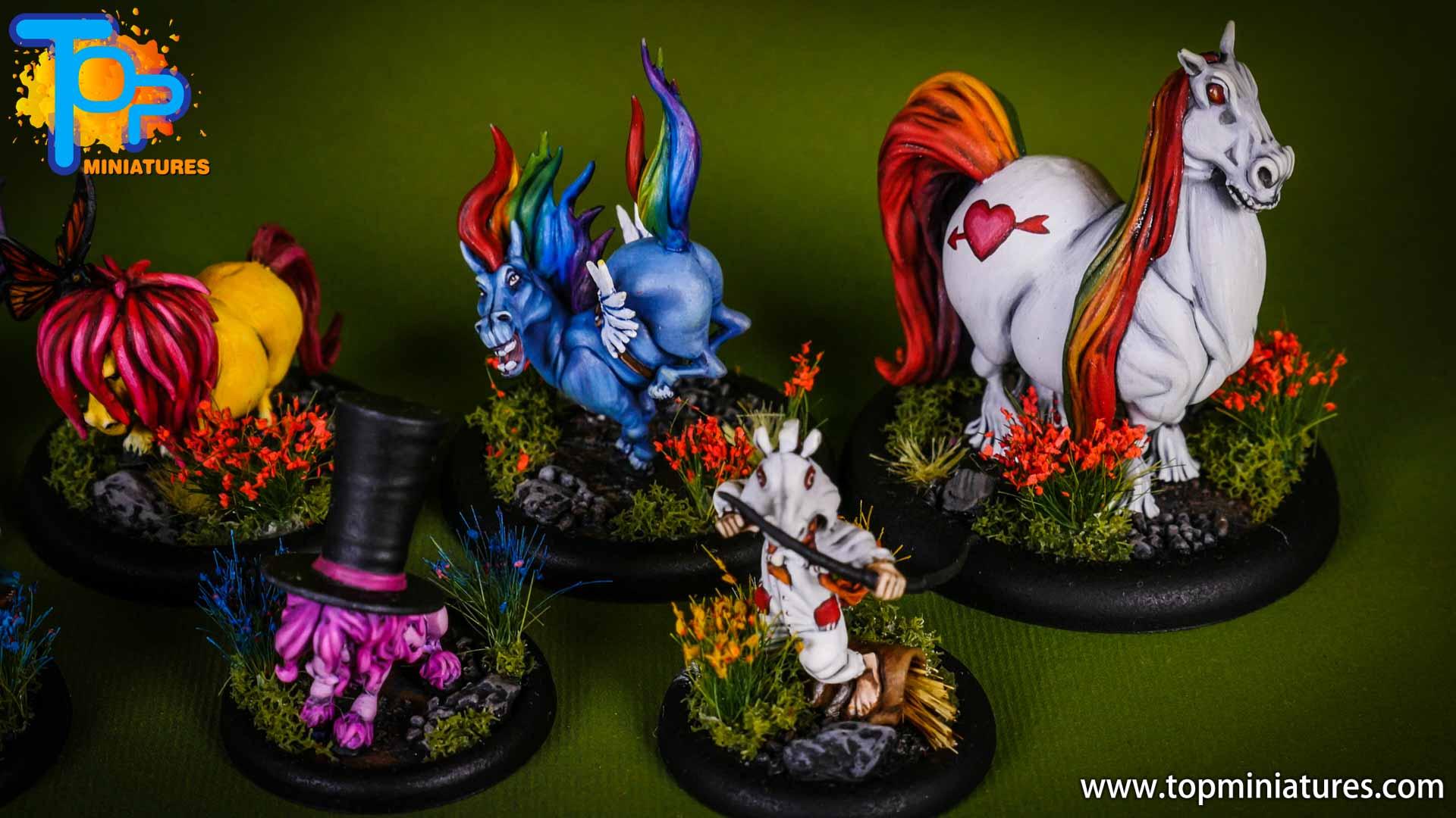 malifaux Unicorn vomit & pixie farts (7)
