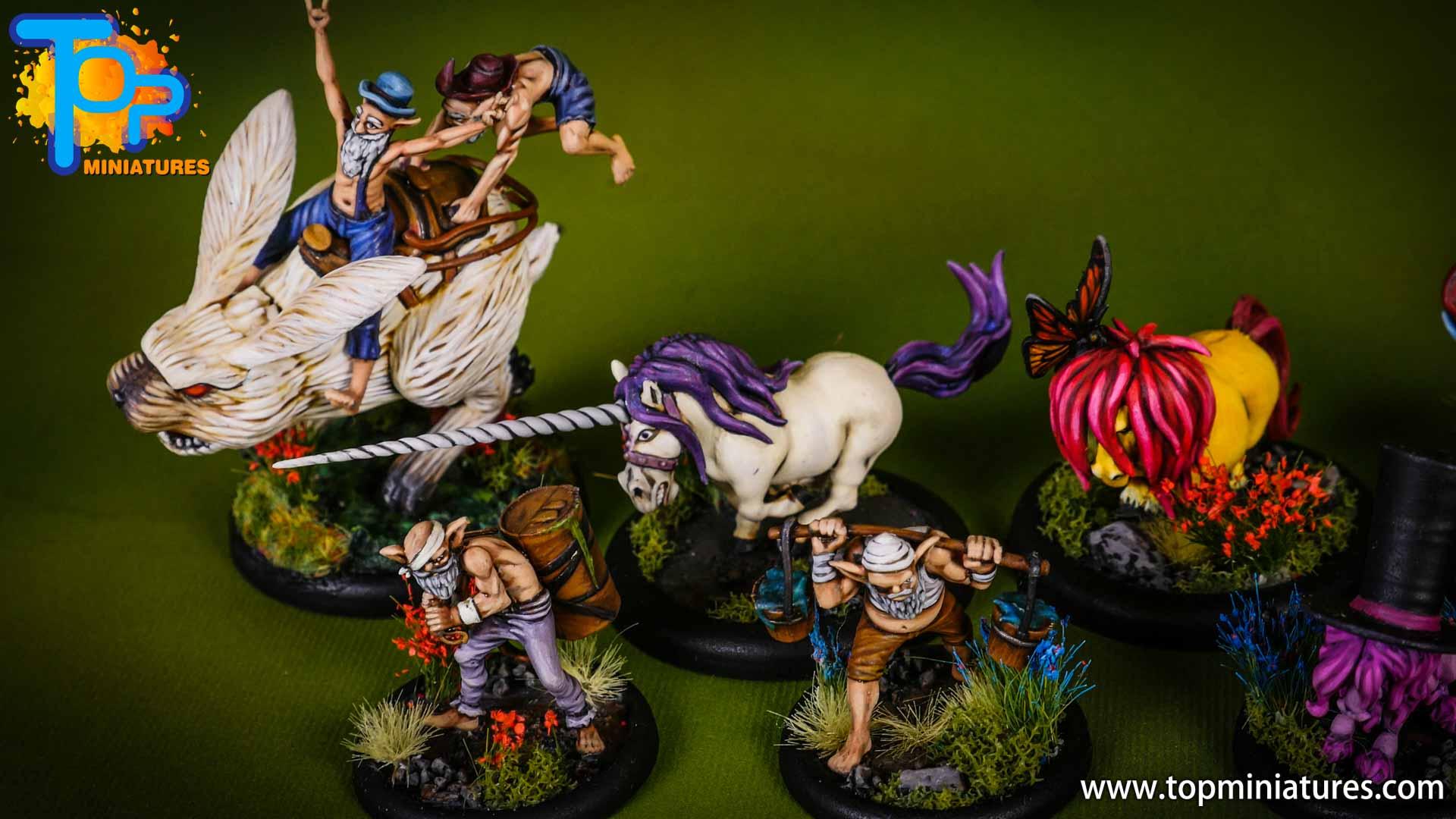 malifaux Unicorn vomit & pixie farts (8)