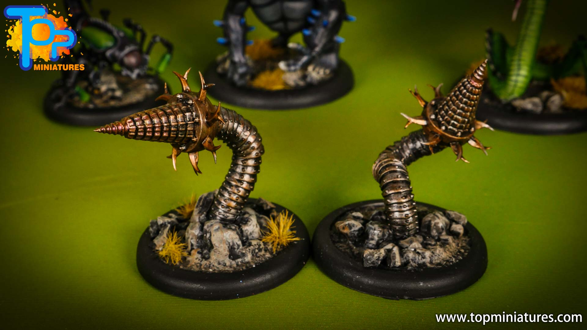 malifaux painted arcanists Soulstone Miners (1)