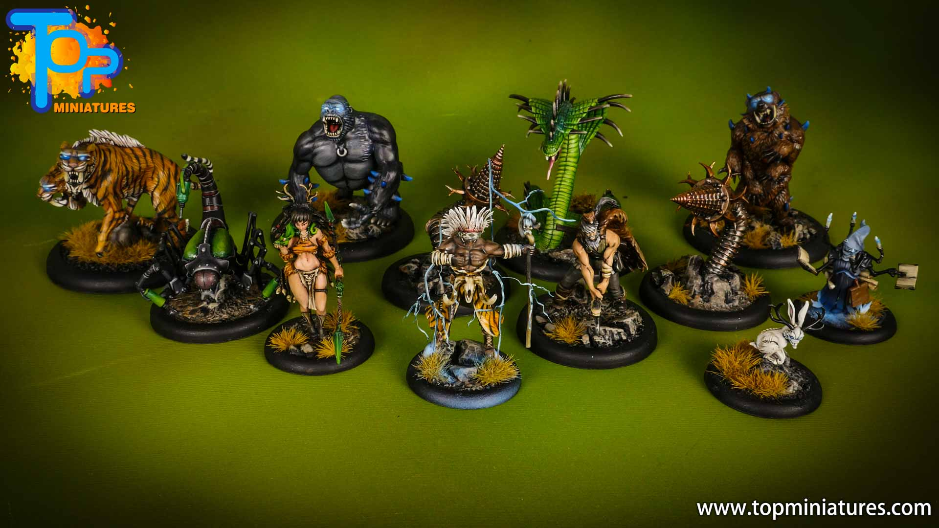 malifaux painted arcanists marcus crew