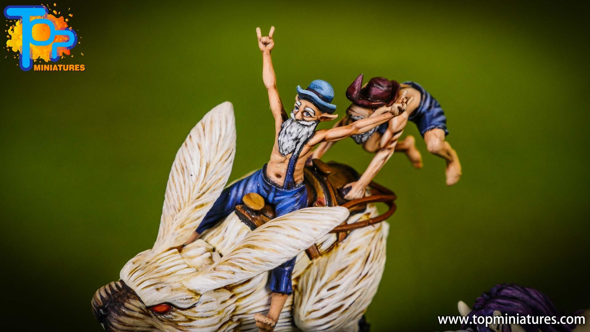malifaux painted war wabbit (3)