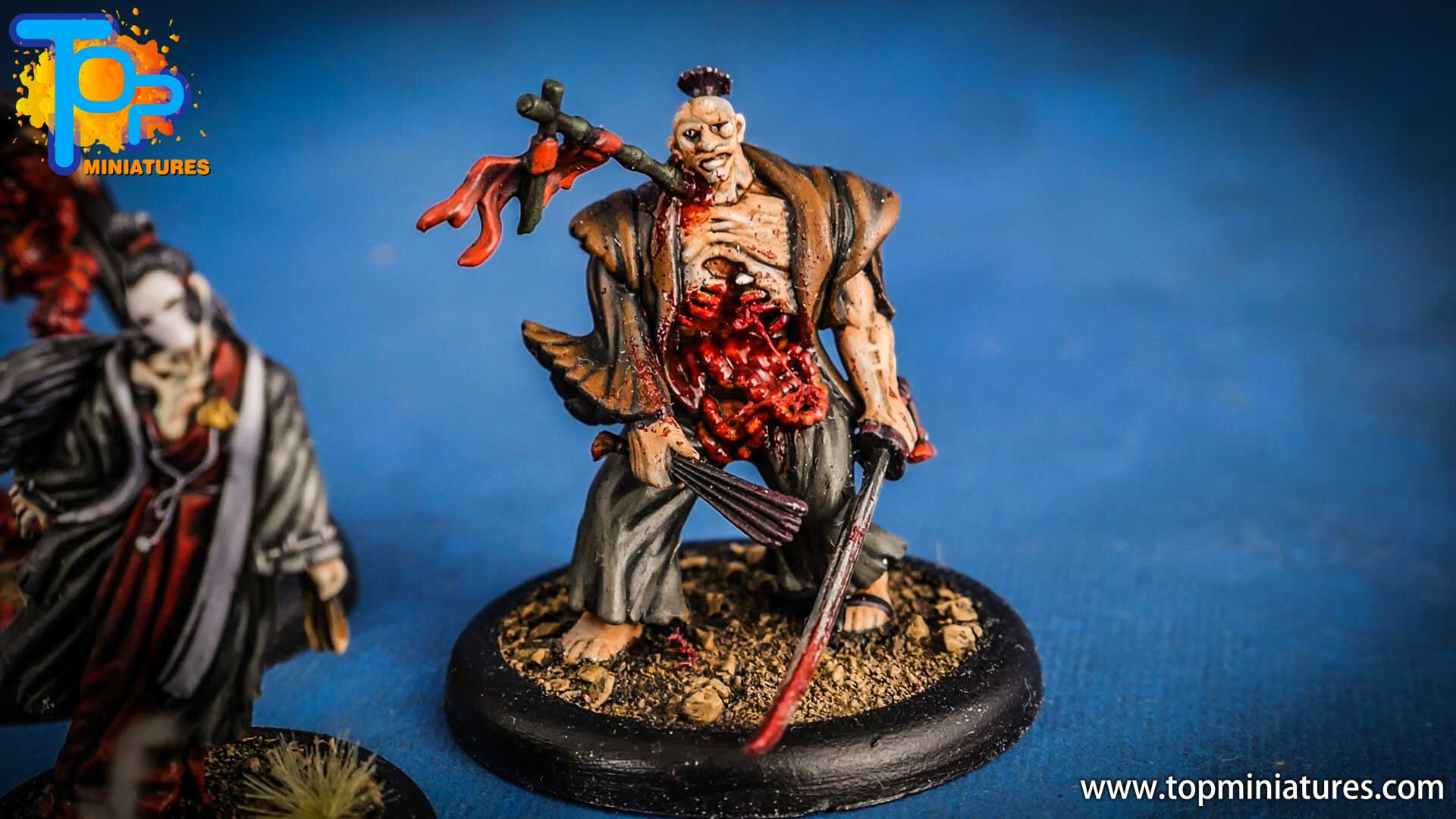 malifaux the resurrectionists painted Toshiro (2)