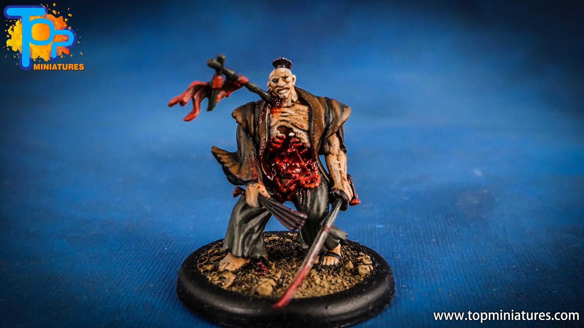 malifaux the resurrectionists painted Toshiro (3)